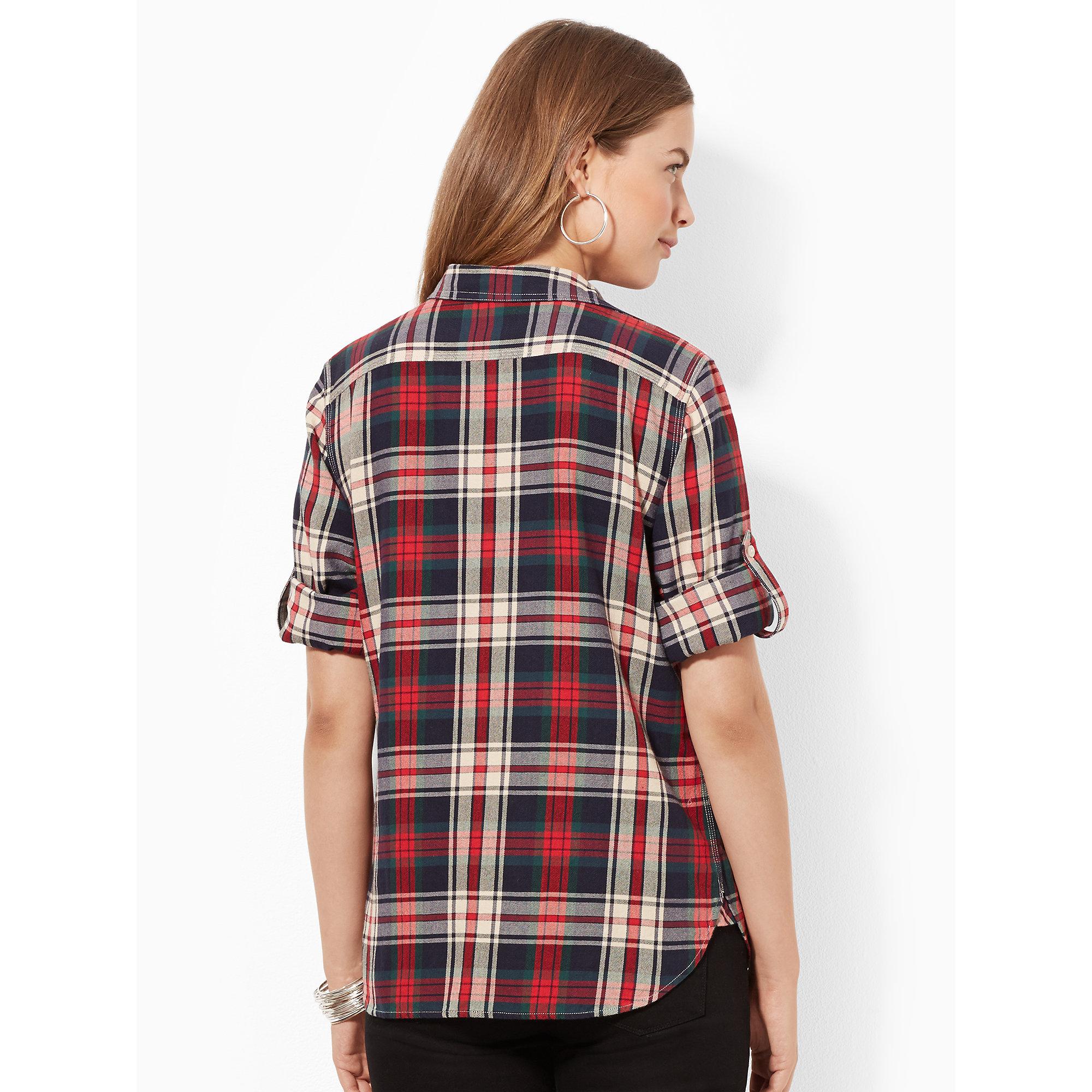 Red Flannel Shirt Women S