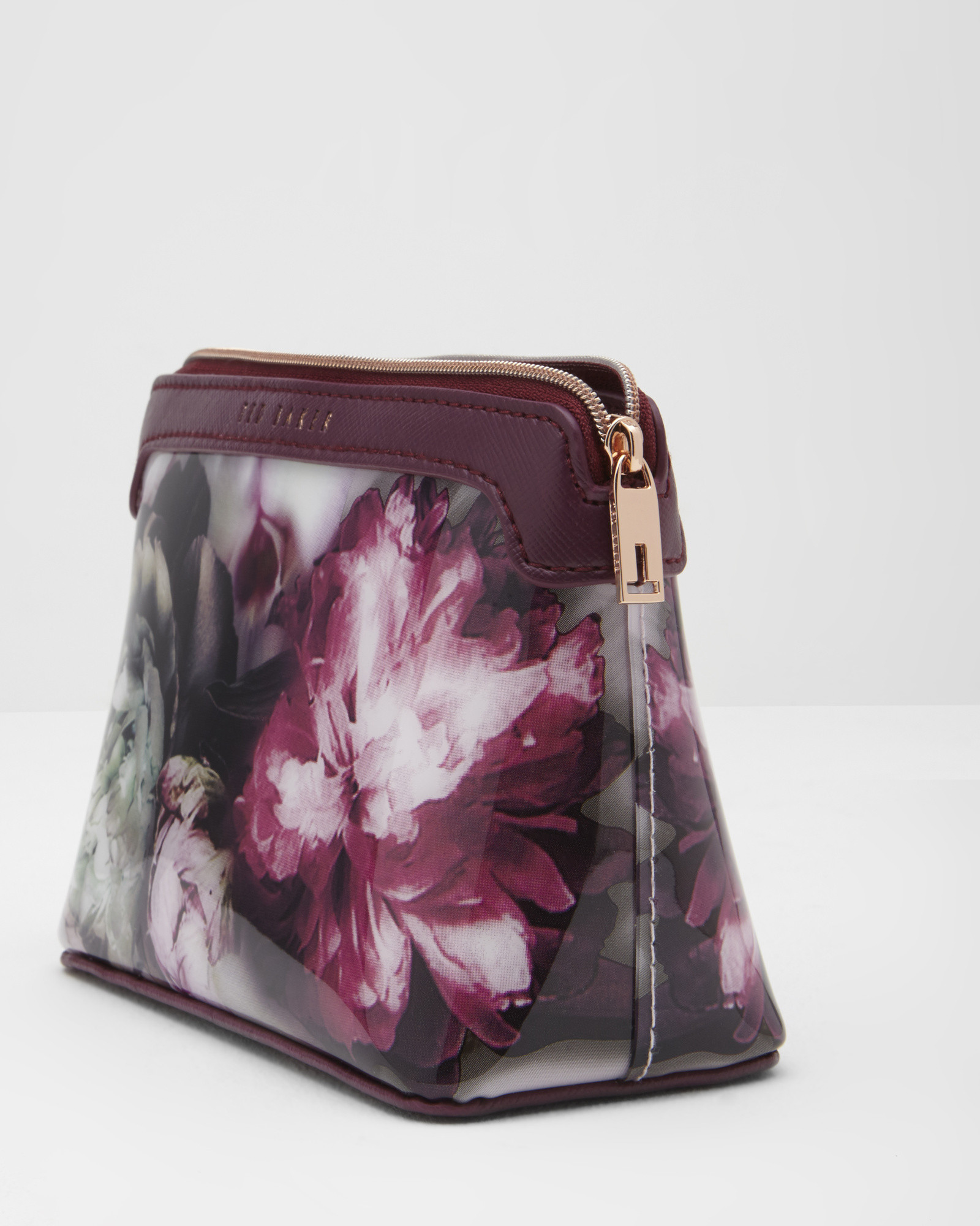 69aaace126a0f2 Lyst - Ted Baker Ethereal Posie Makeup Bag in Purple