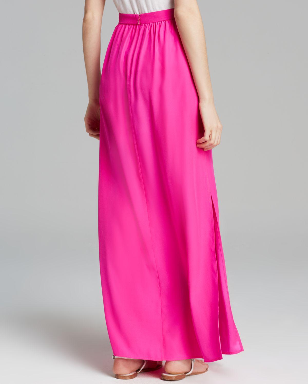 e9d5e4a4d09 Long Hot Pink Maxi Skirt - Image Skirt and Slipper Imagepv.co