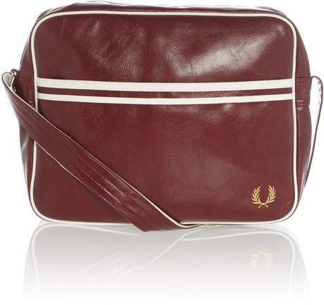Fred Perry Classic Shoulder Bag Red 59