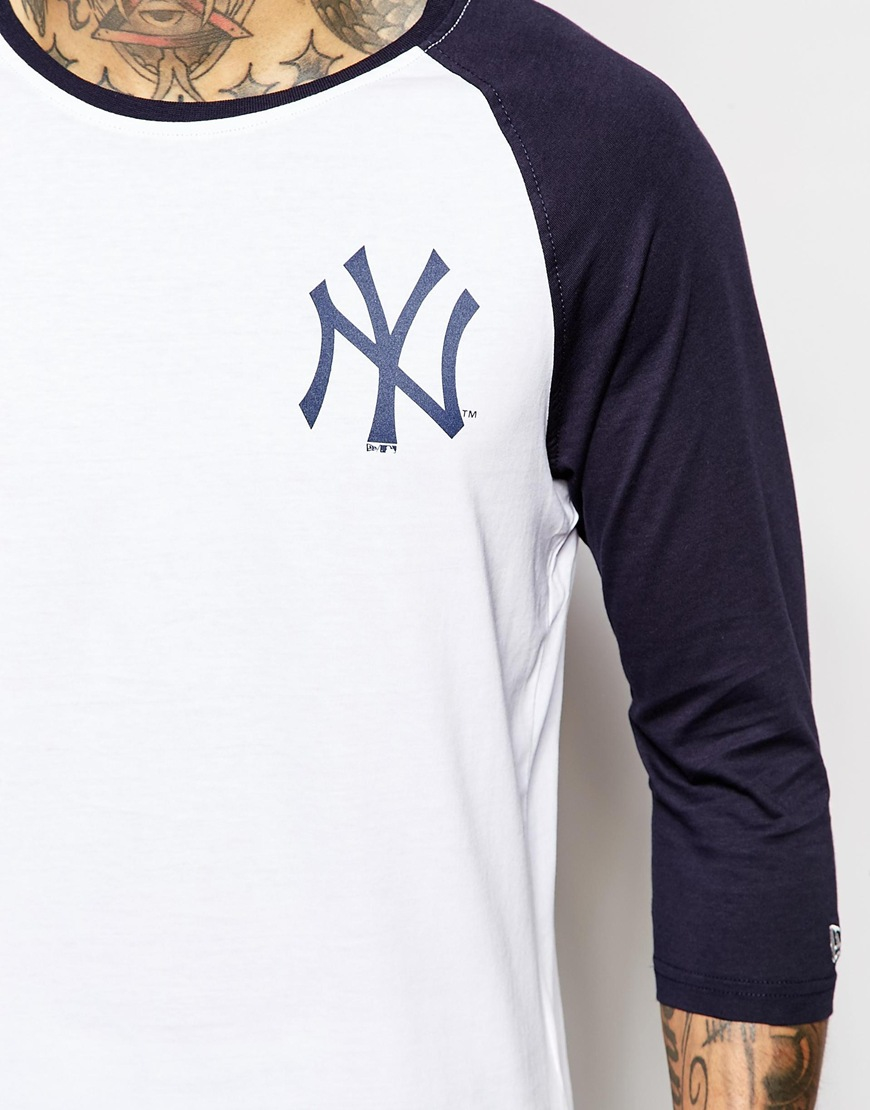 Lyst - KTZ Ny Yankees Raglan T-shirt in Blue for Men d3eb50e8de8