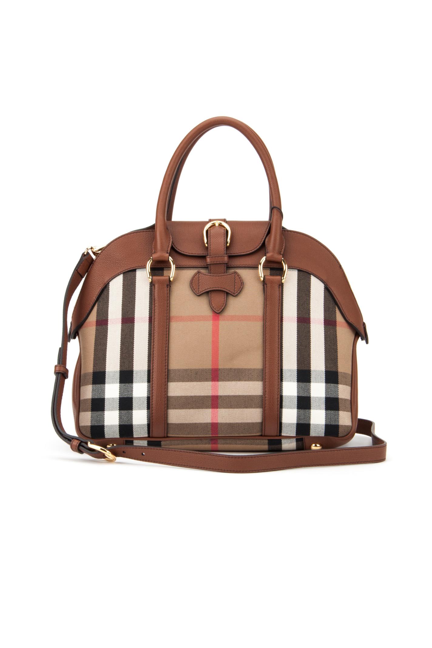 fa32ed0f1b95 Burberry Medium Milverton Bag in Brown (TAN)