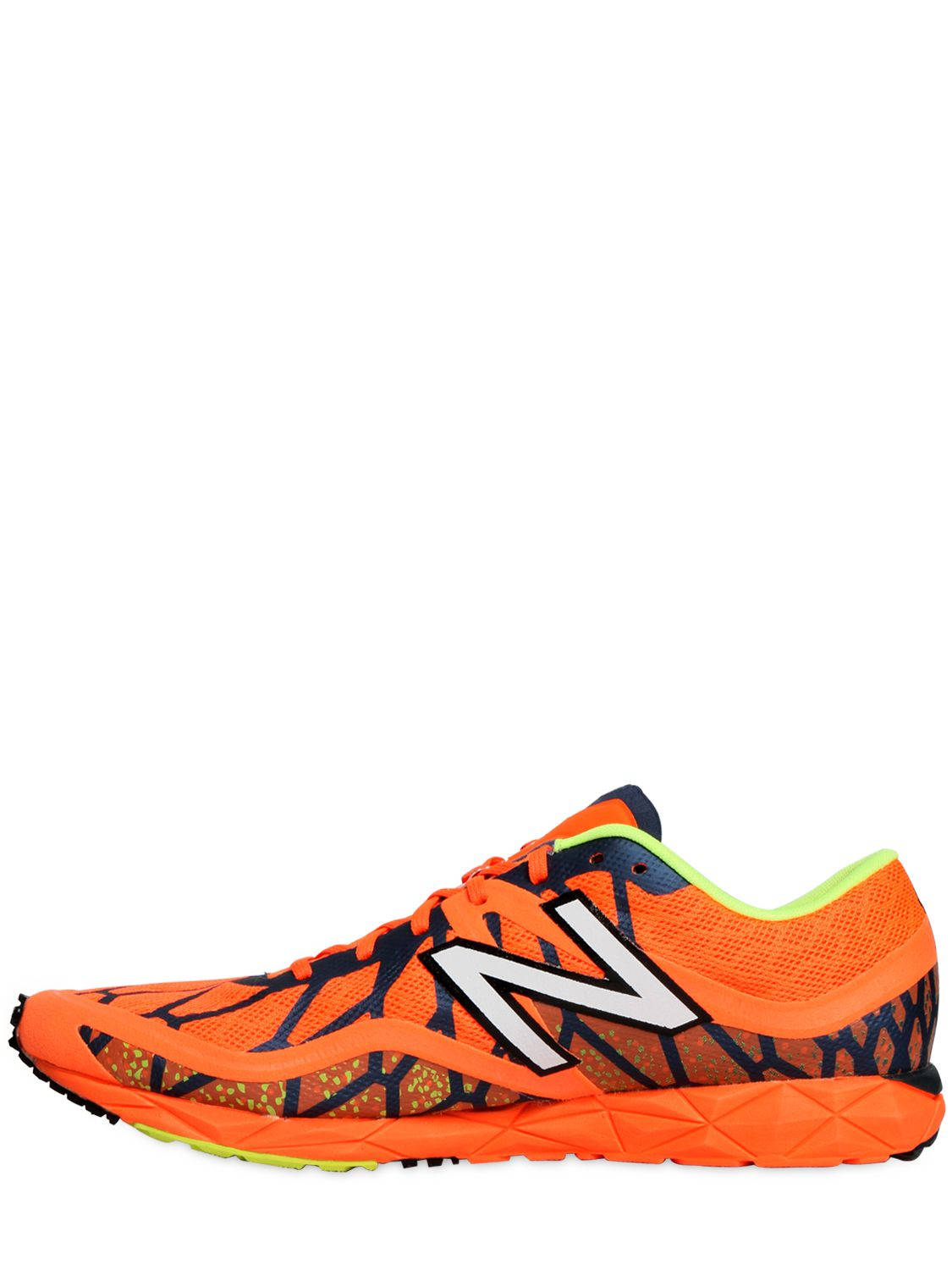 New Balance 1600 Fantom Fit Running Sneakers In Orange For