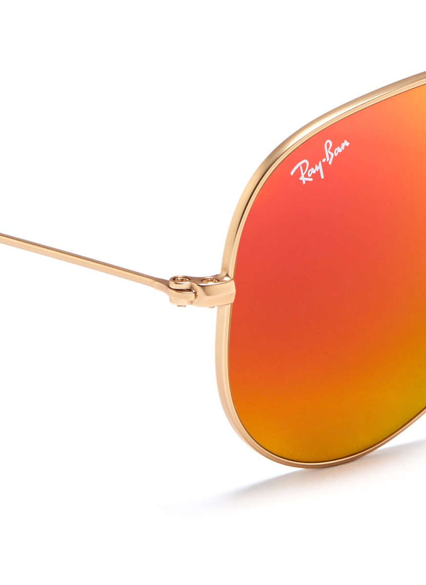 Ray ban 2014 homme aviator for Ray ban aviator miroir homme