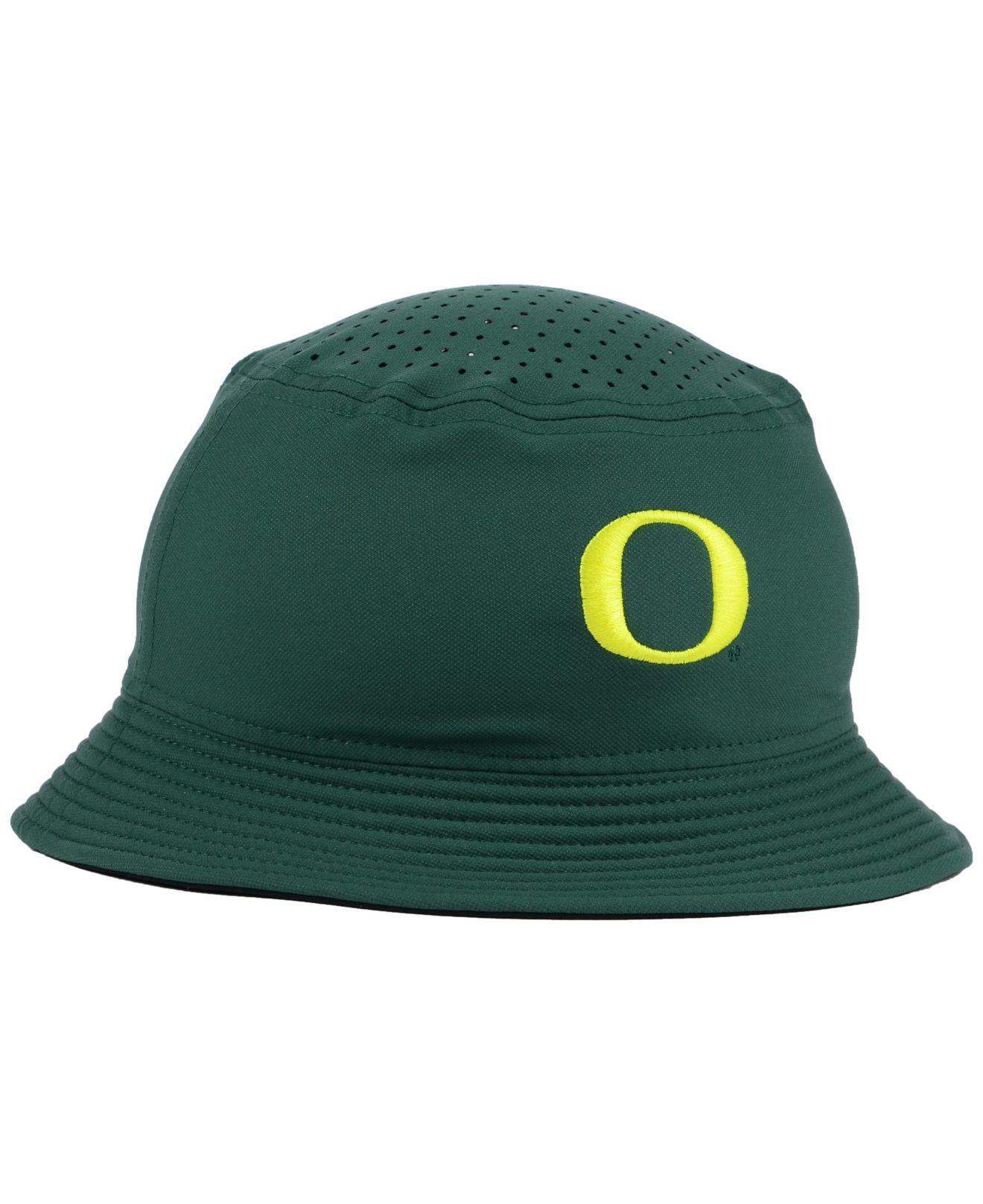 019241df7e4 Lyst Nike Oregon Ducks Vapor Bucket Hat In Green For Men