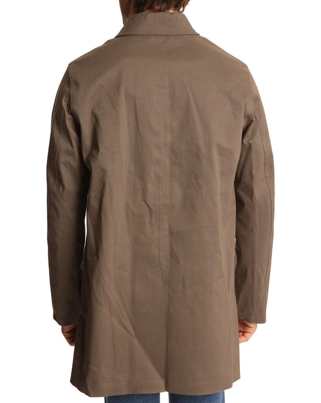 Brown Waterproof Jacket - JacketIn