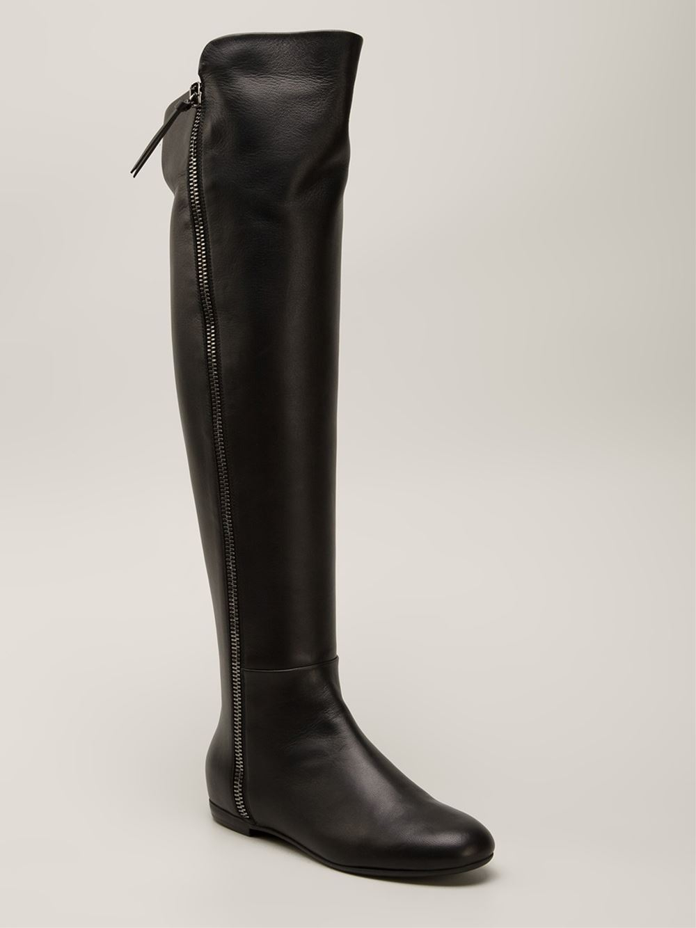 100% authentic cheap price discount visit new Giuseppe Zanotti Knee-High Leather Boots clearance find great outlet pay with paypal sale Manchester s2dqpun