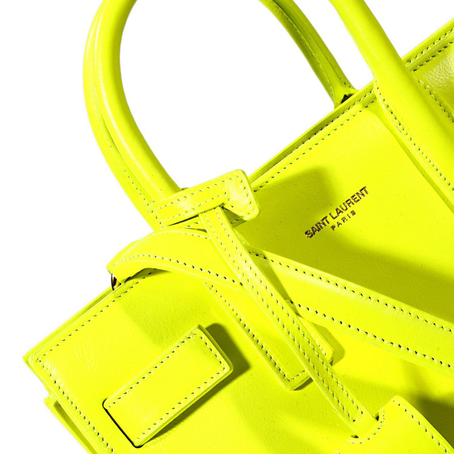 ysl new collection bags - classic baby sac de jour bag in yellow leather