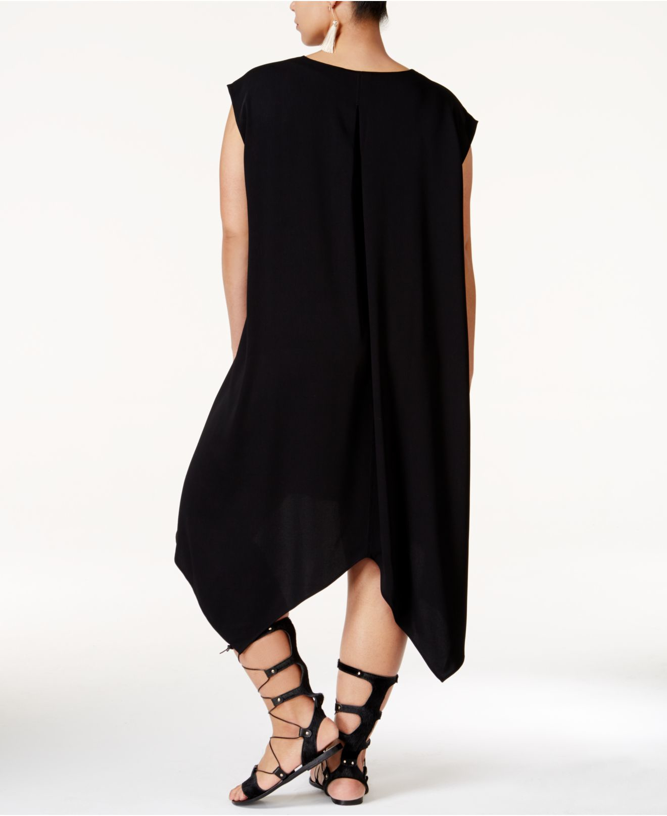 da4b8c55f26fe Lyst - RACHEL Rachel Roy Plus Size Sydney Sleeveless Handkerchief ...