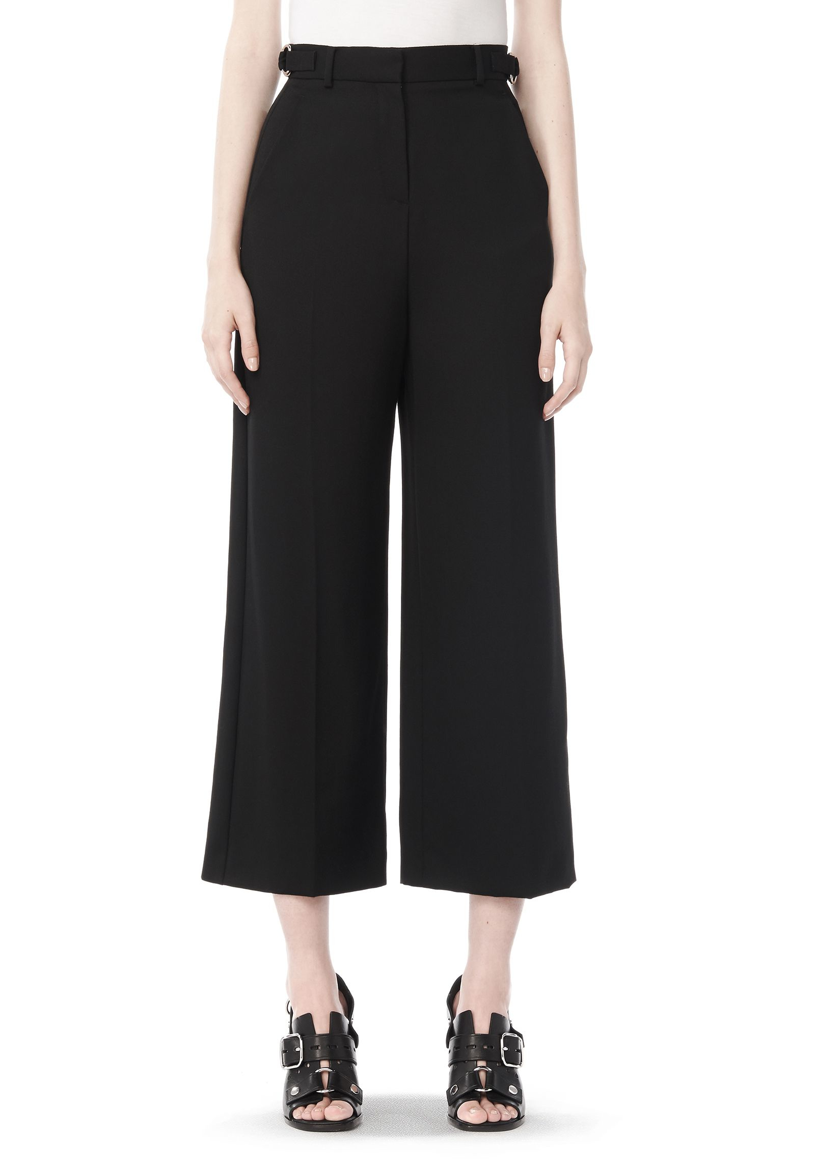 Shop for wide leg black polyester pants and other bottoms products at ShapeShop. Browse our bottoms selections and save today.