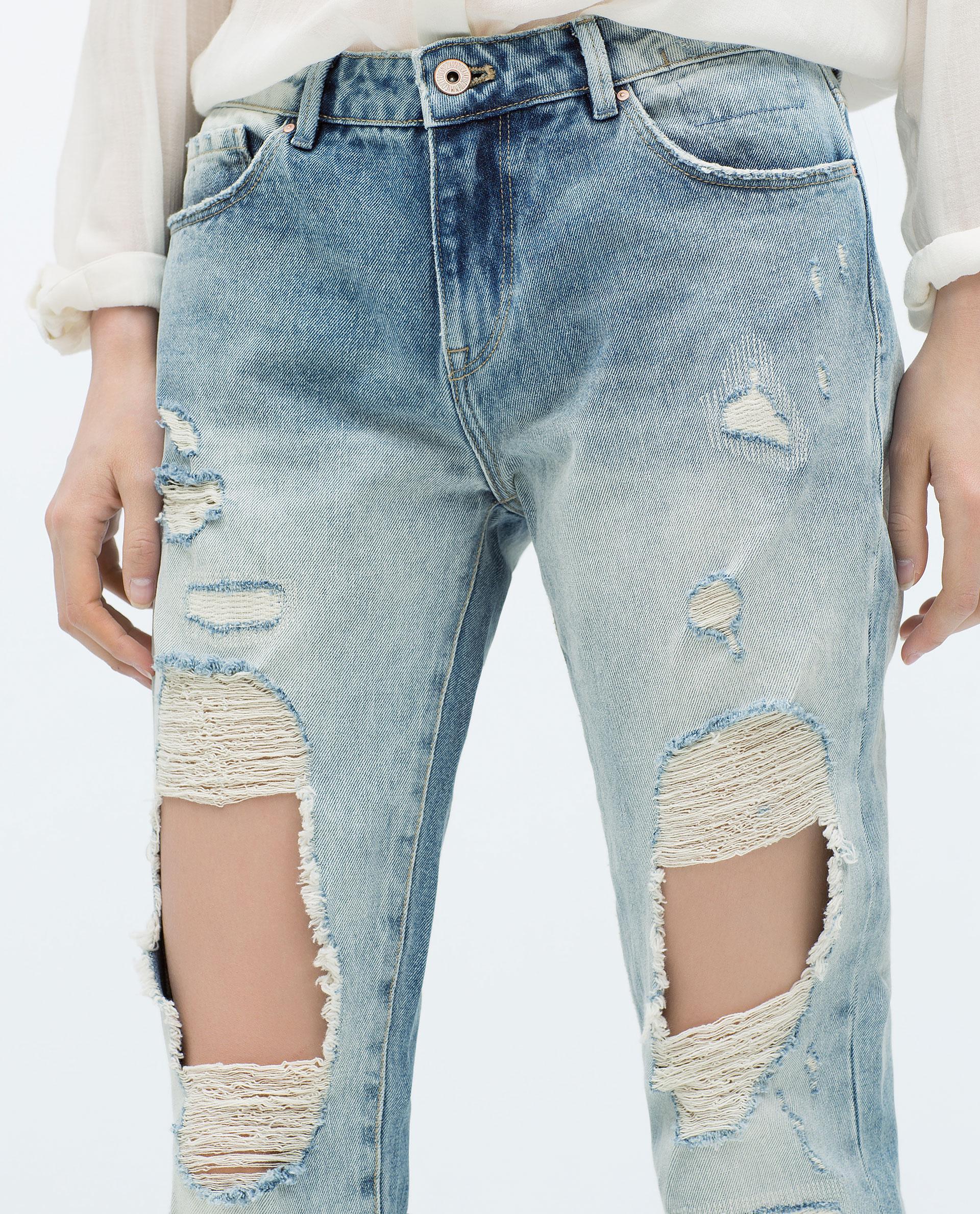 Excellent DamagedJeansWOMAN  ZARA United States  Outfits  Pinterest  Zara