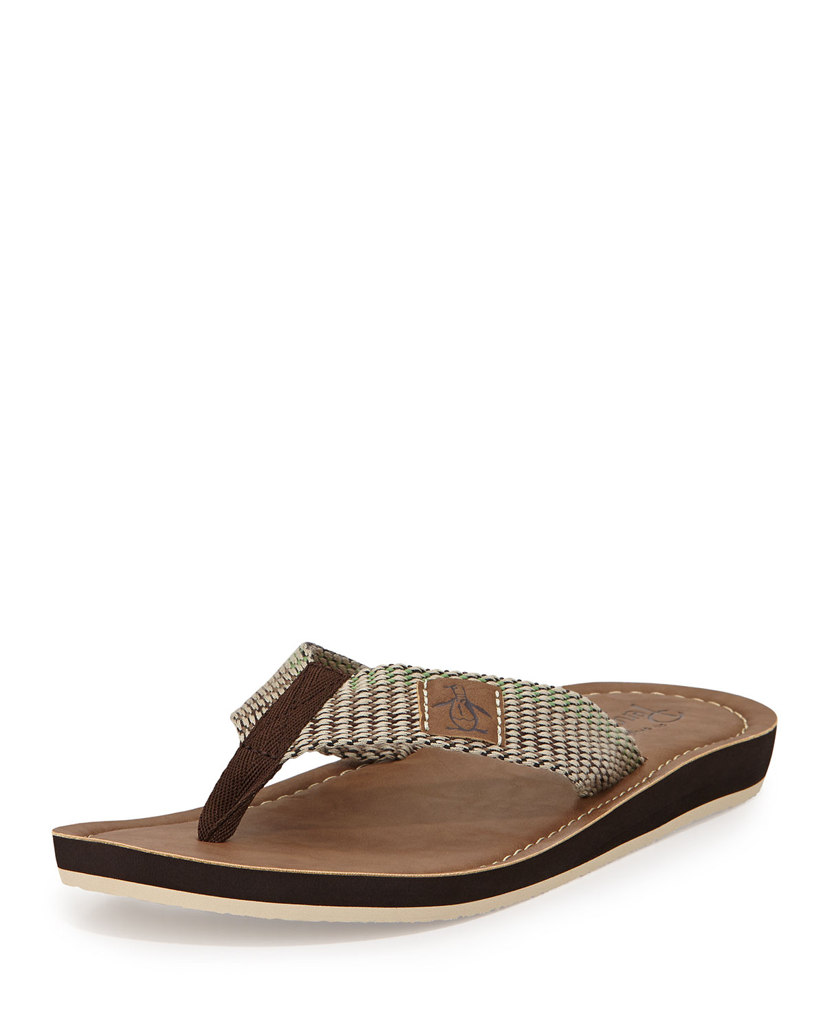 Lyst Original Penguin Del Mar Slip On Thong Sandal In