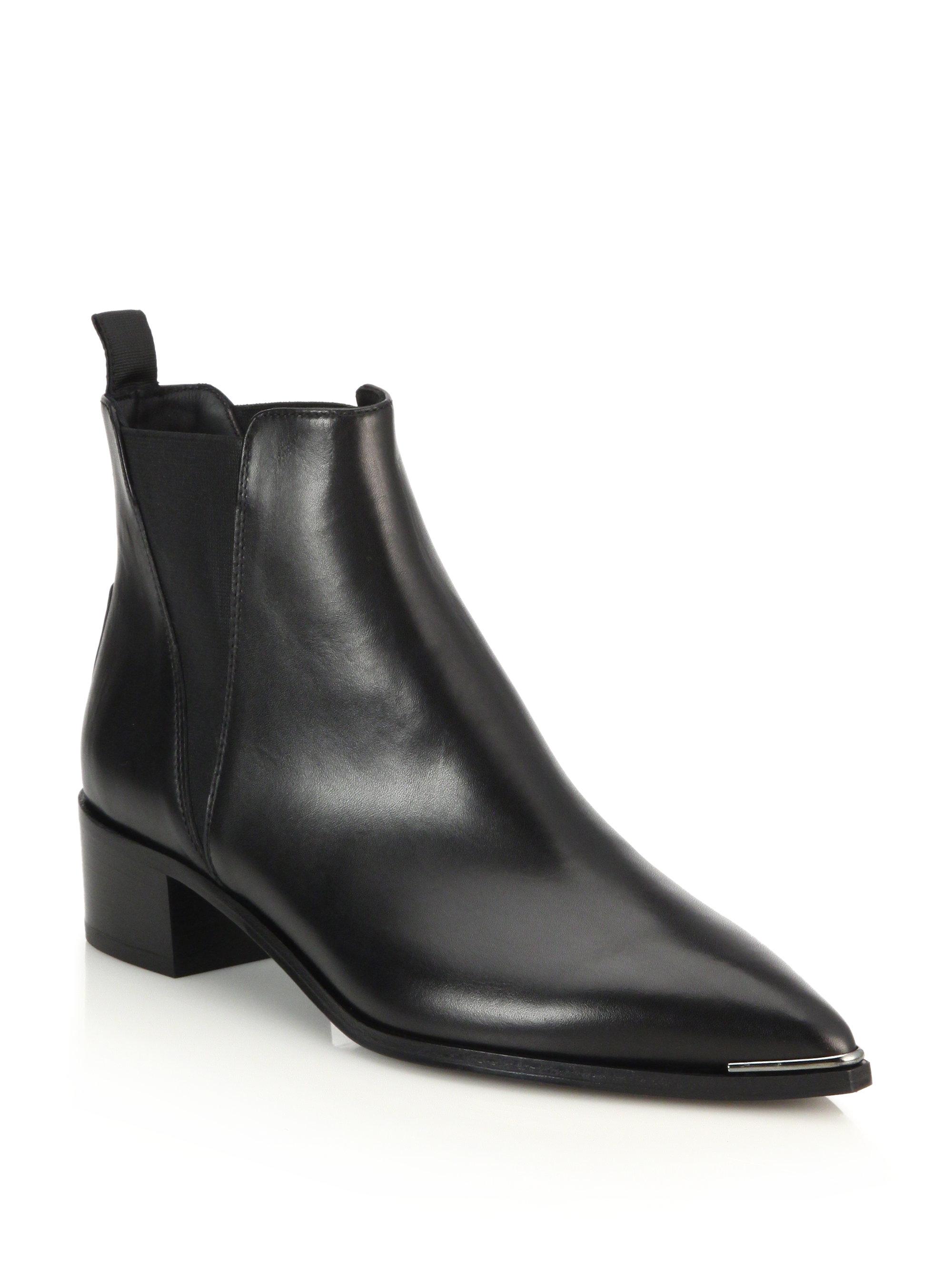 acne studios jensen chelsea boots in black for men lyst. Black Bedroom Furniture Sets. Home Design Ideas