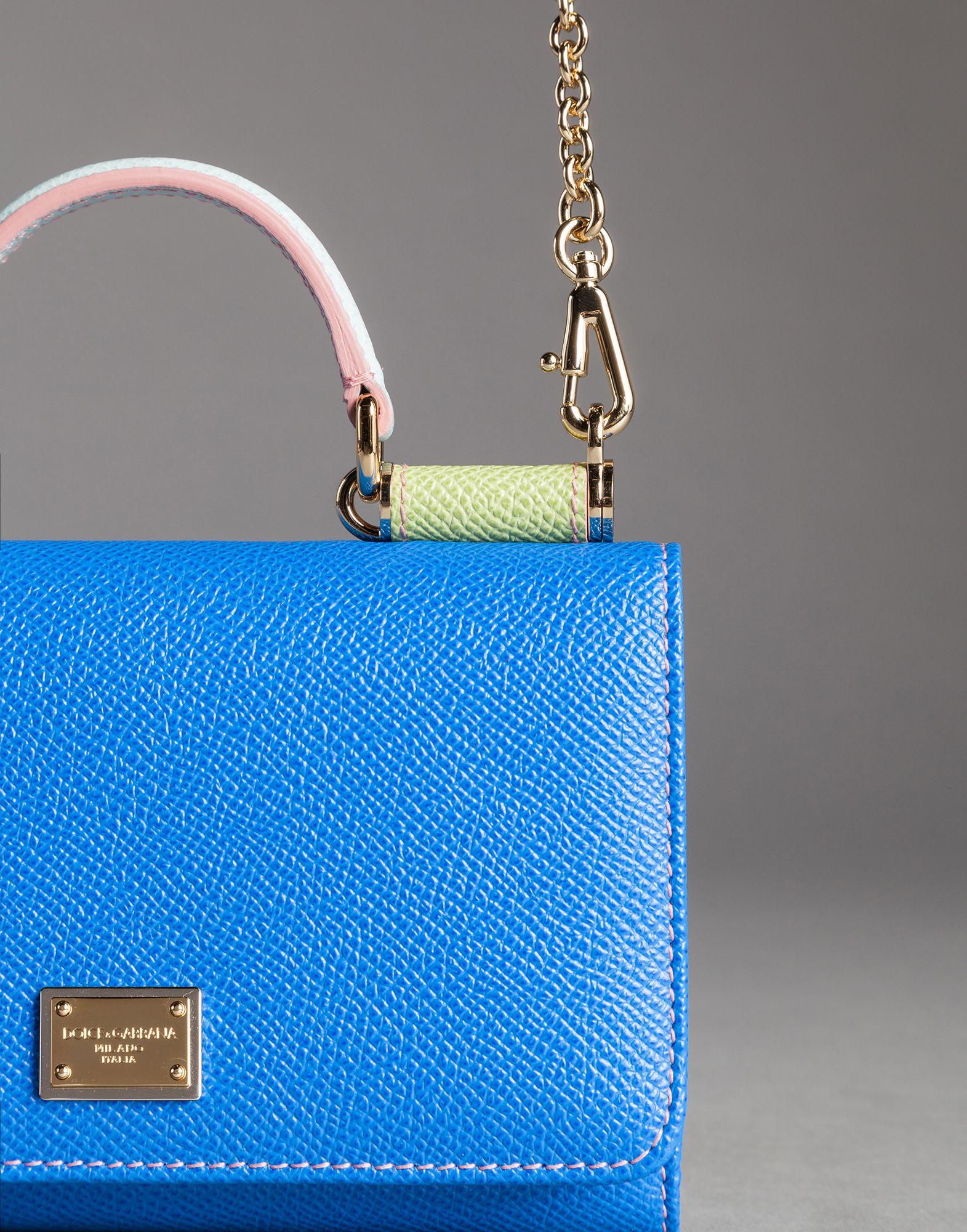 a0e6f8428d Lyst - Dolce   Gabbana Mini Von Bag Mix Limited Edition in Blue