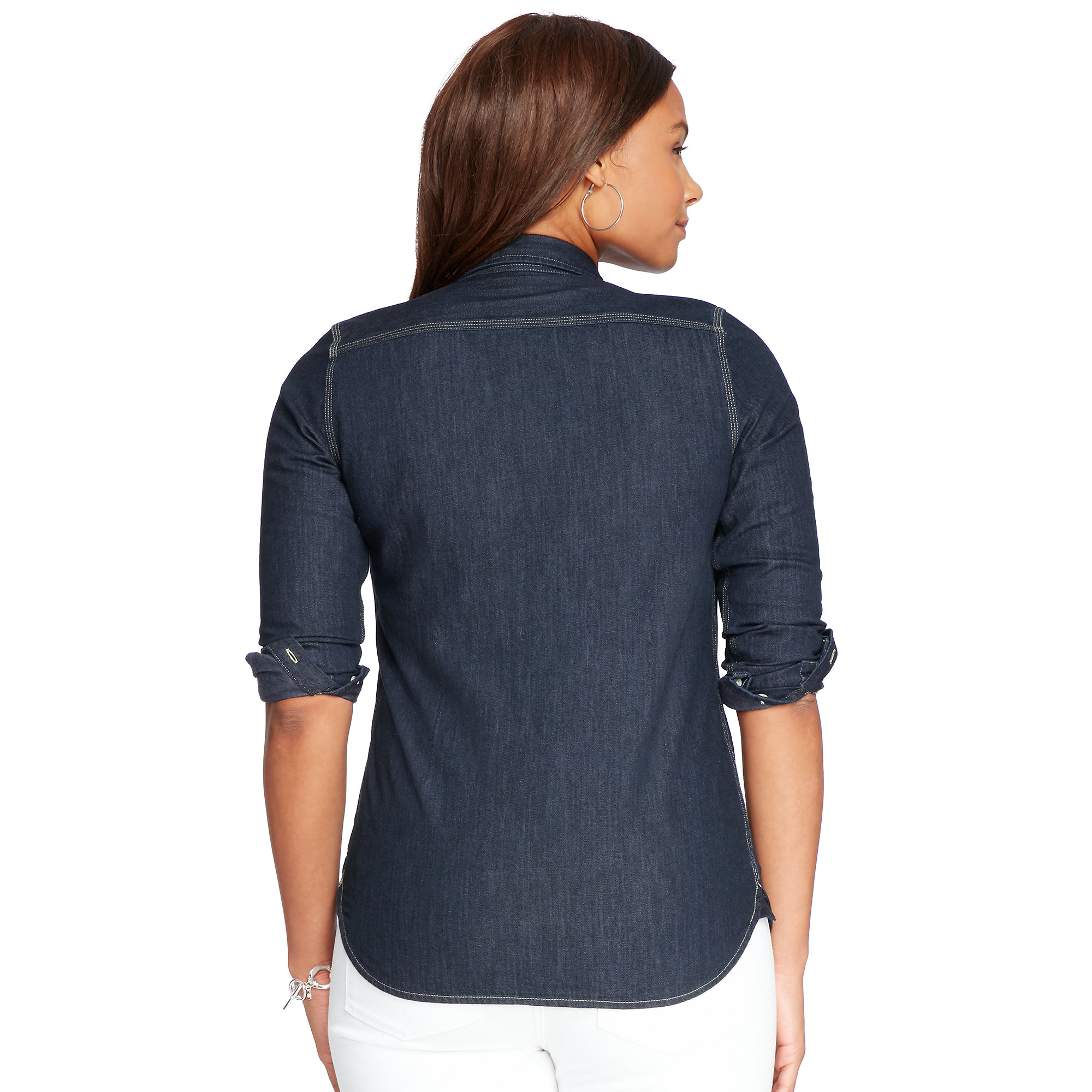 denim shirt pockets - photo #34