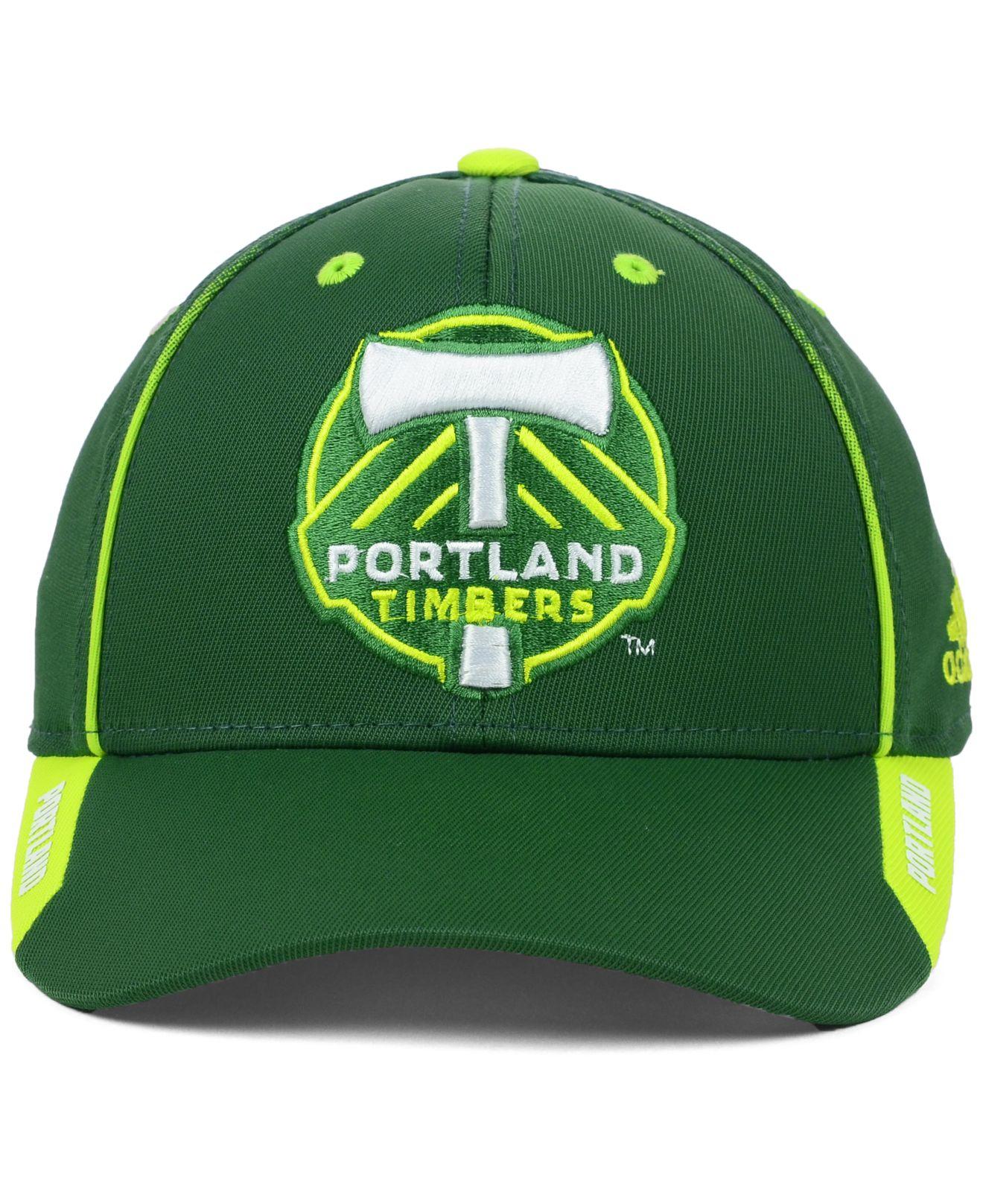 3ade41a3c14 ... denmark lyst adidas portland timbers mls mid fielder cap in green for  men 581ea 480a3