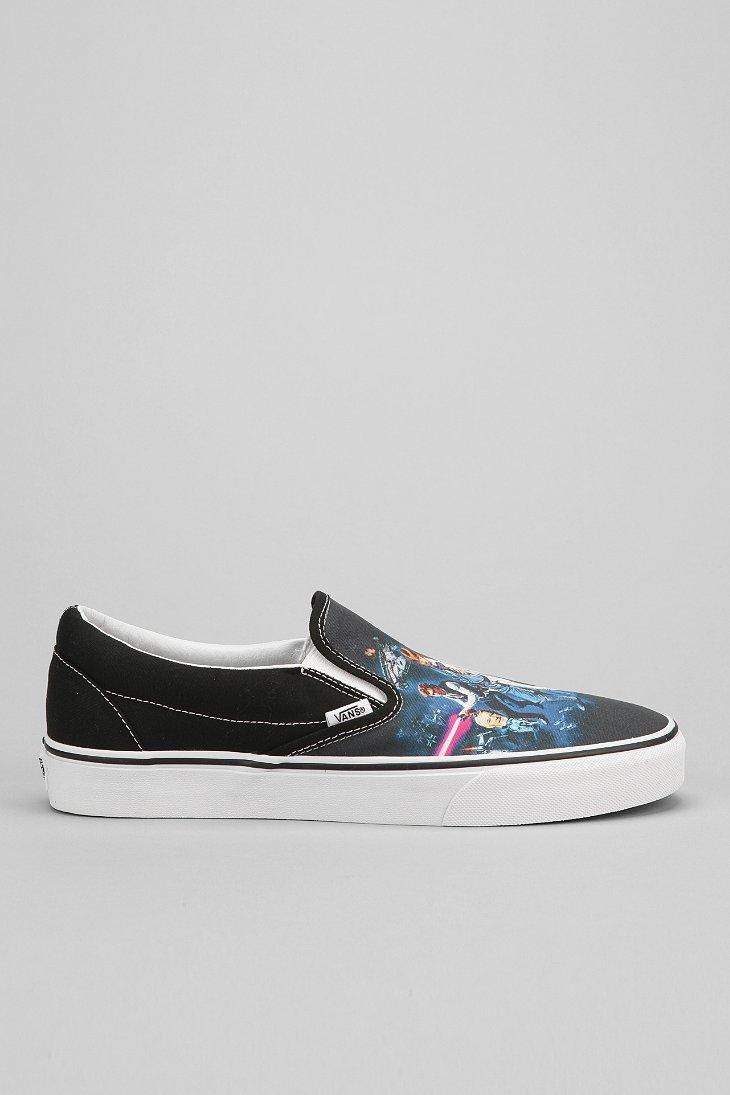 f0d6b98be1 Lyst - Vans X Star Wars Classic Slip-On Men S Sneaker in Black for Men