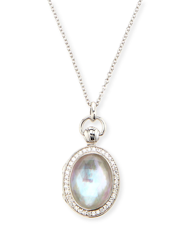 Lyst  Monica Rich Kosann Petite Oval Rock Crystal Locket. Exclusive Emerald. Worn Emerald. Prong Diamond Emerald. Original Emerald. Red Coral Emerald. Tiny Cluster Emerald. Pile Emerald. Tear Drop Emerald