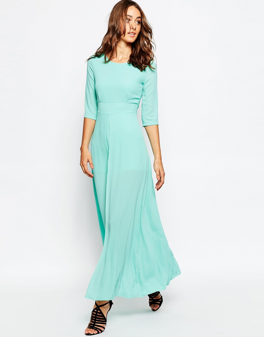 9f1596f102 Maxi Skirt Mint Green