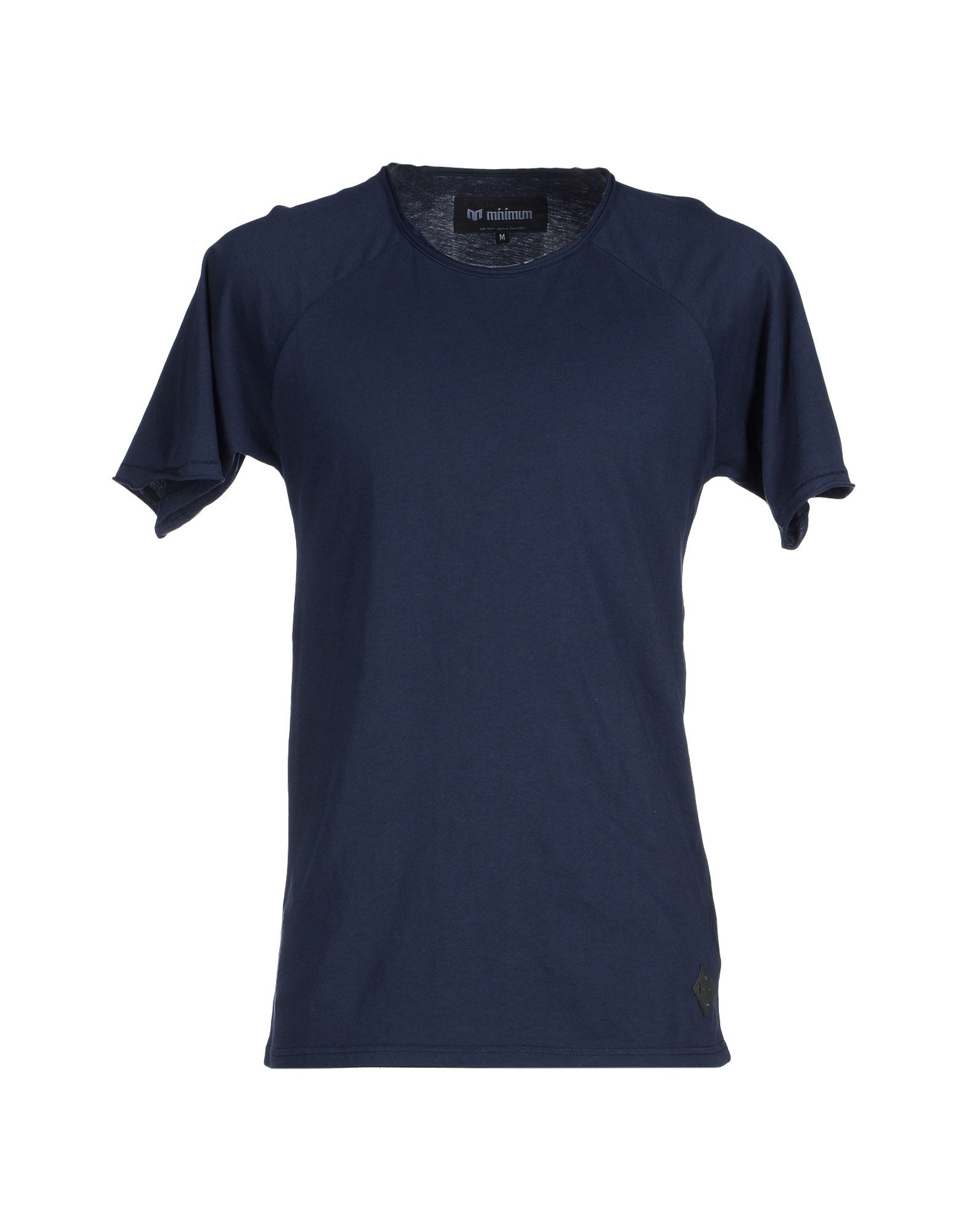 Minimum T Shirt In Blue For Men Lyst