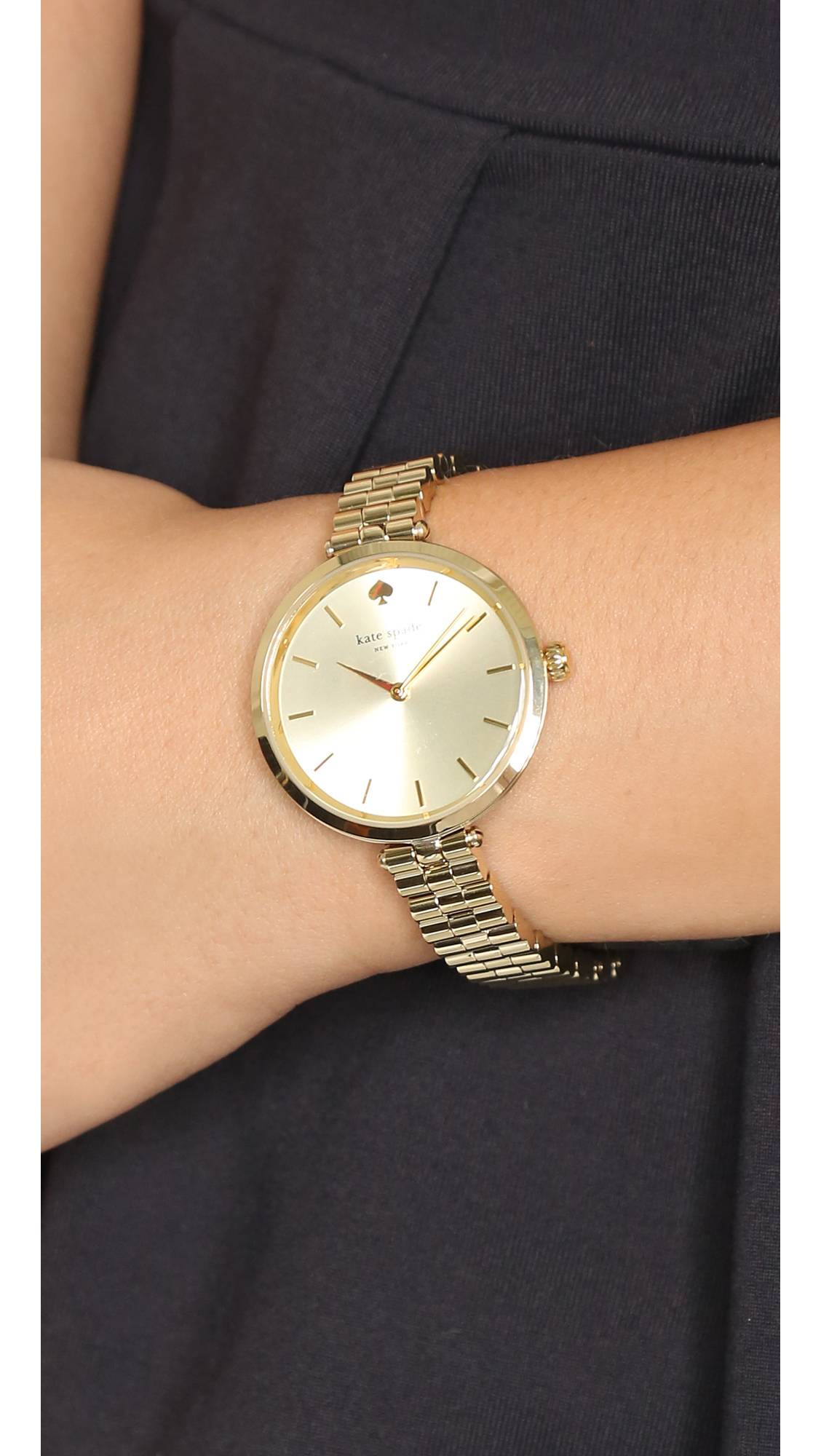 Lyst Kate Spade New York Holland Skinny Watch In Metallic