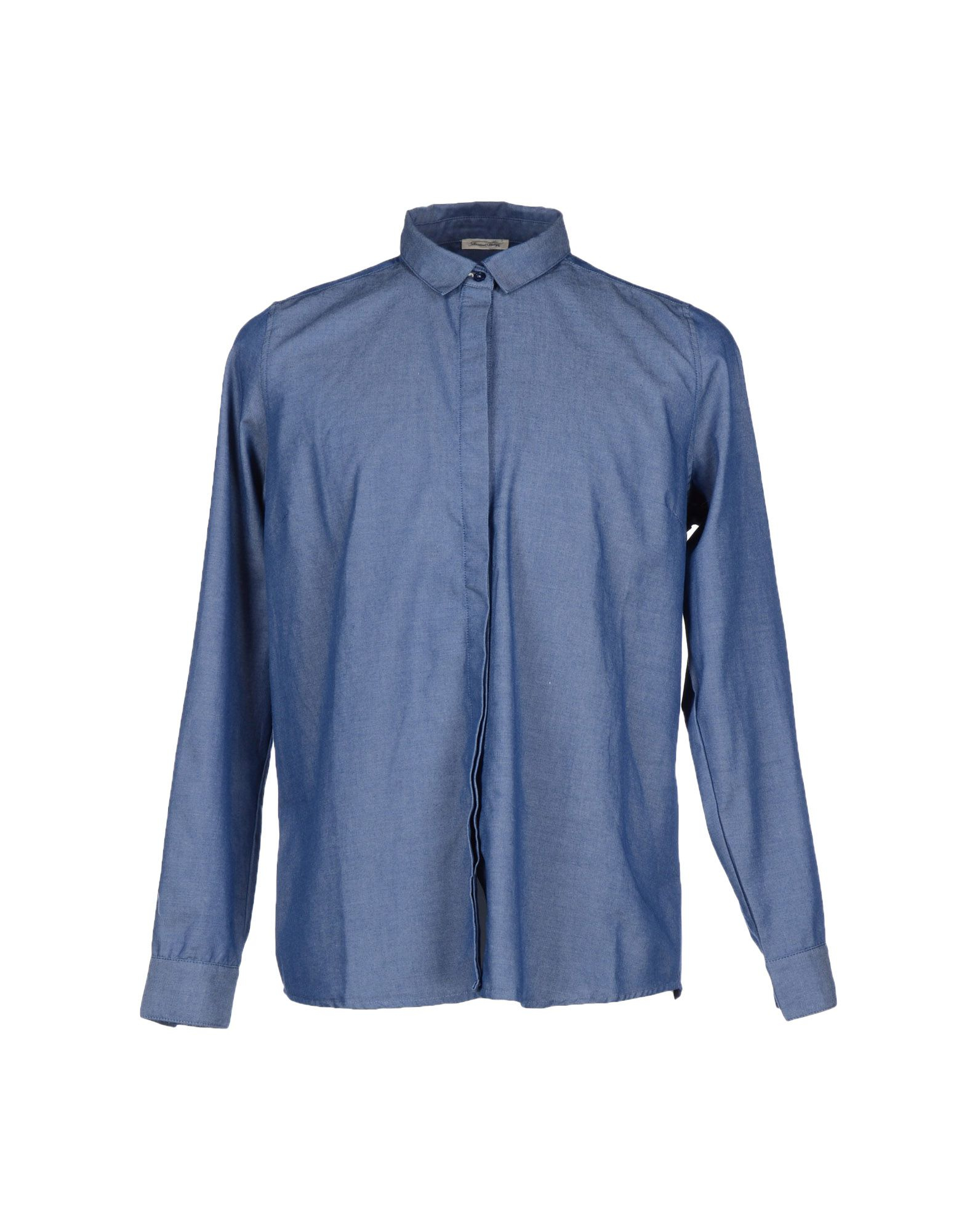 american vintage shirt in blue for lyst