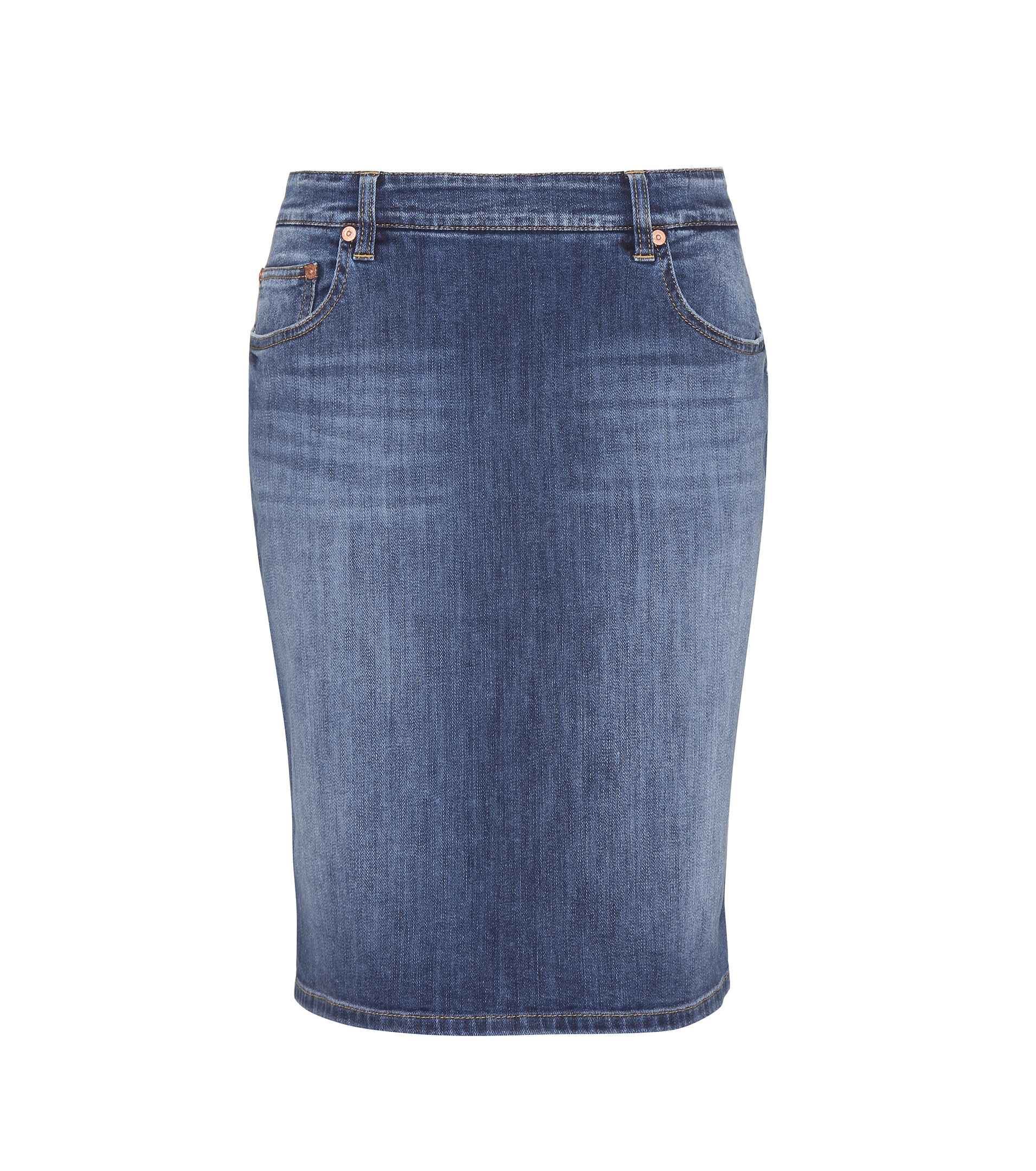 Closed Denim Skirt in Blue | Lyst