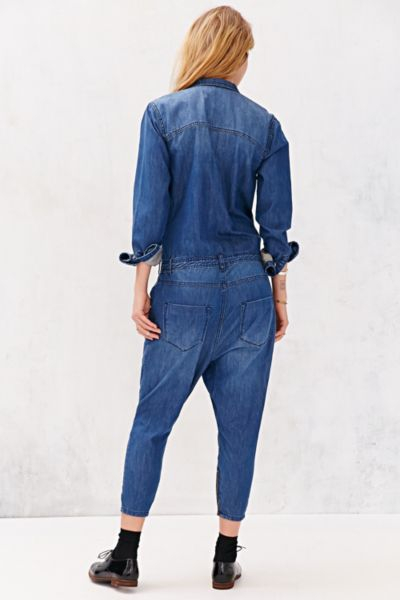 592171e0fc4d Lyst - One Teaspoon Utility Jumpsuit in Blue