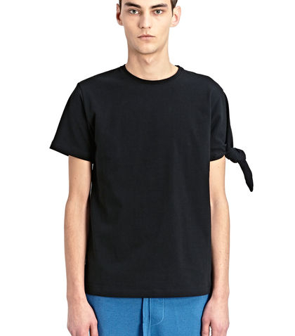 Single knot T-shirt - Black J.W.Anderson Store Online Shop Offer Sale Online sLJ8mxD