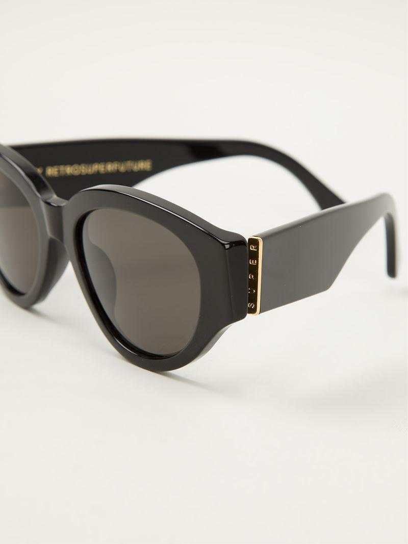Tuttolente Drew Mama sunglasses - Black Retro Superfuture L0Nz9eb1
