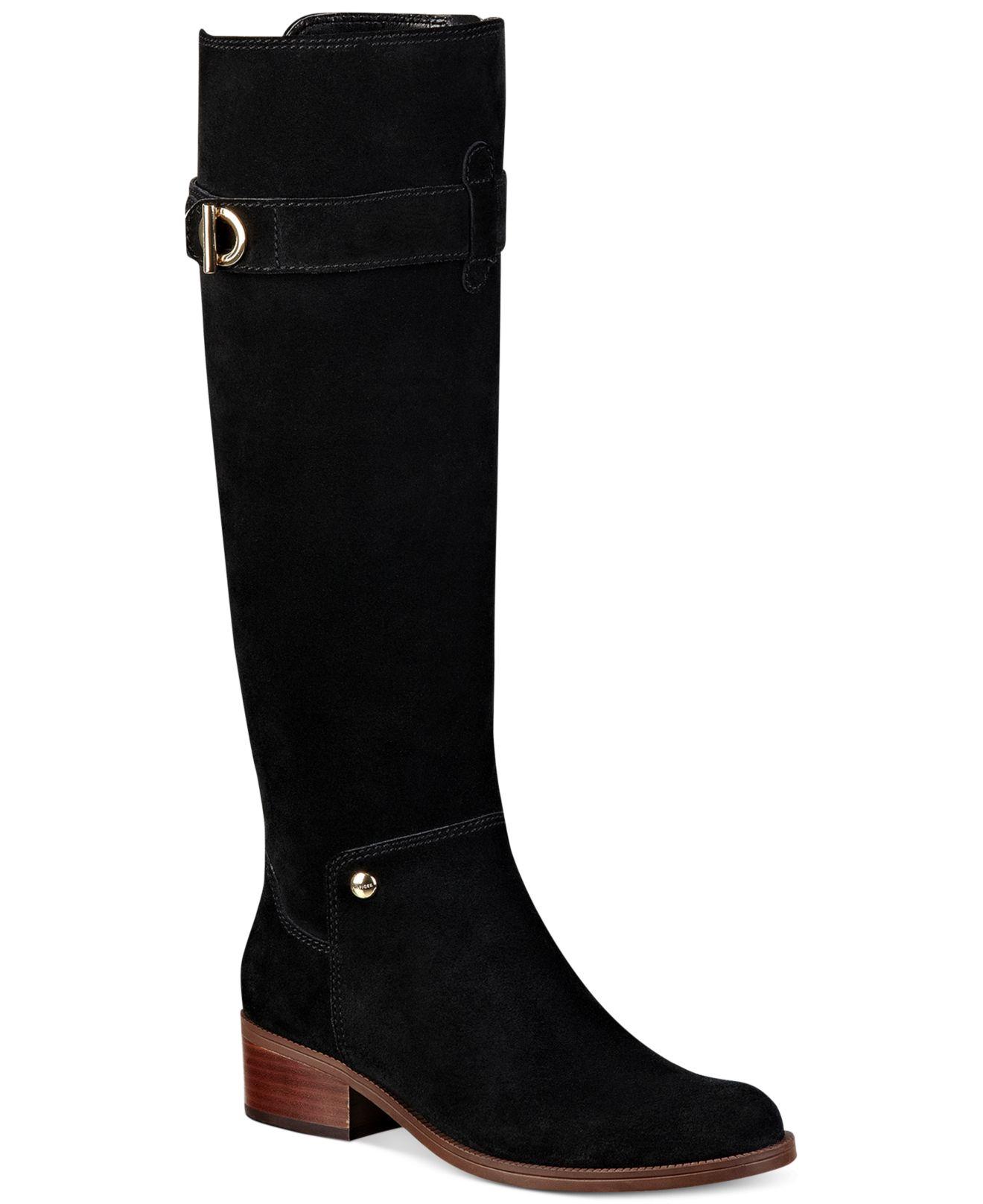 boots tommy hilfiger damen buy tommy hilfiger womens penelope leather block heeled tommy. Black Bedroom Furniture Sets. Home Design Ideas