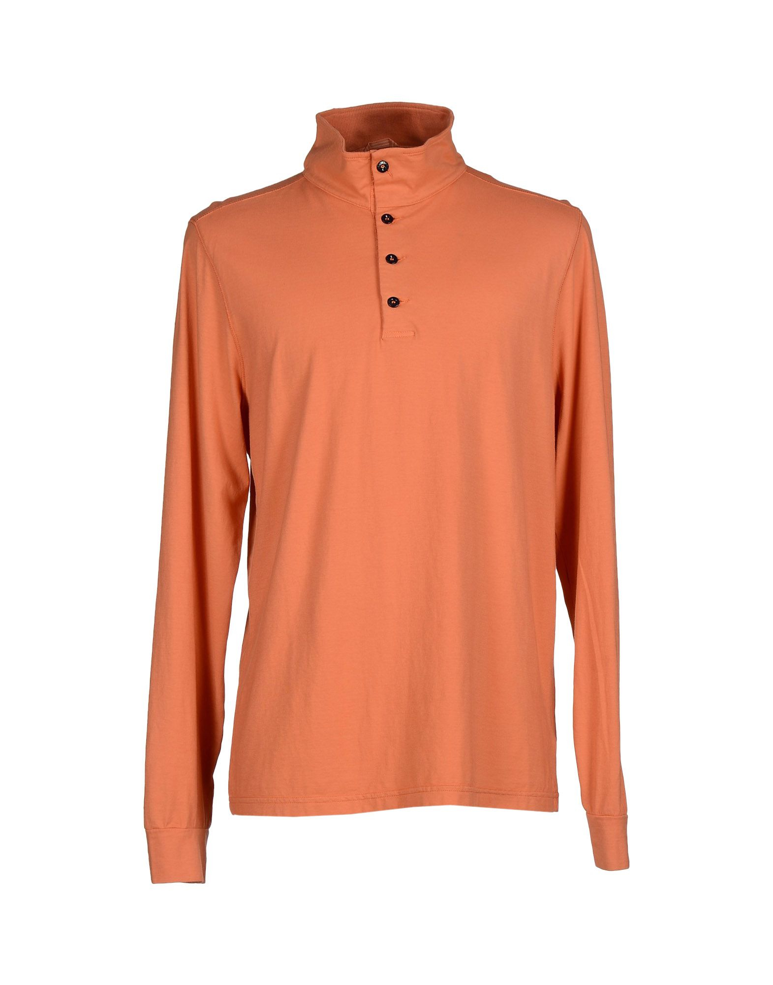 Lyst c p company t shirt in orange for men for T shirt for company