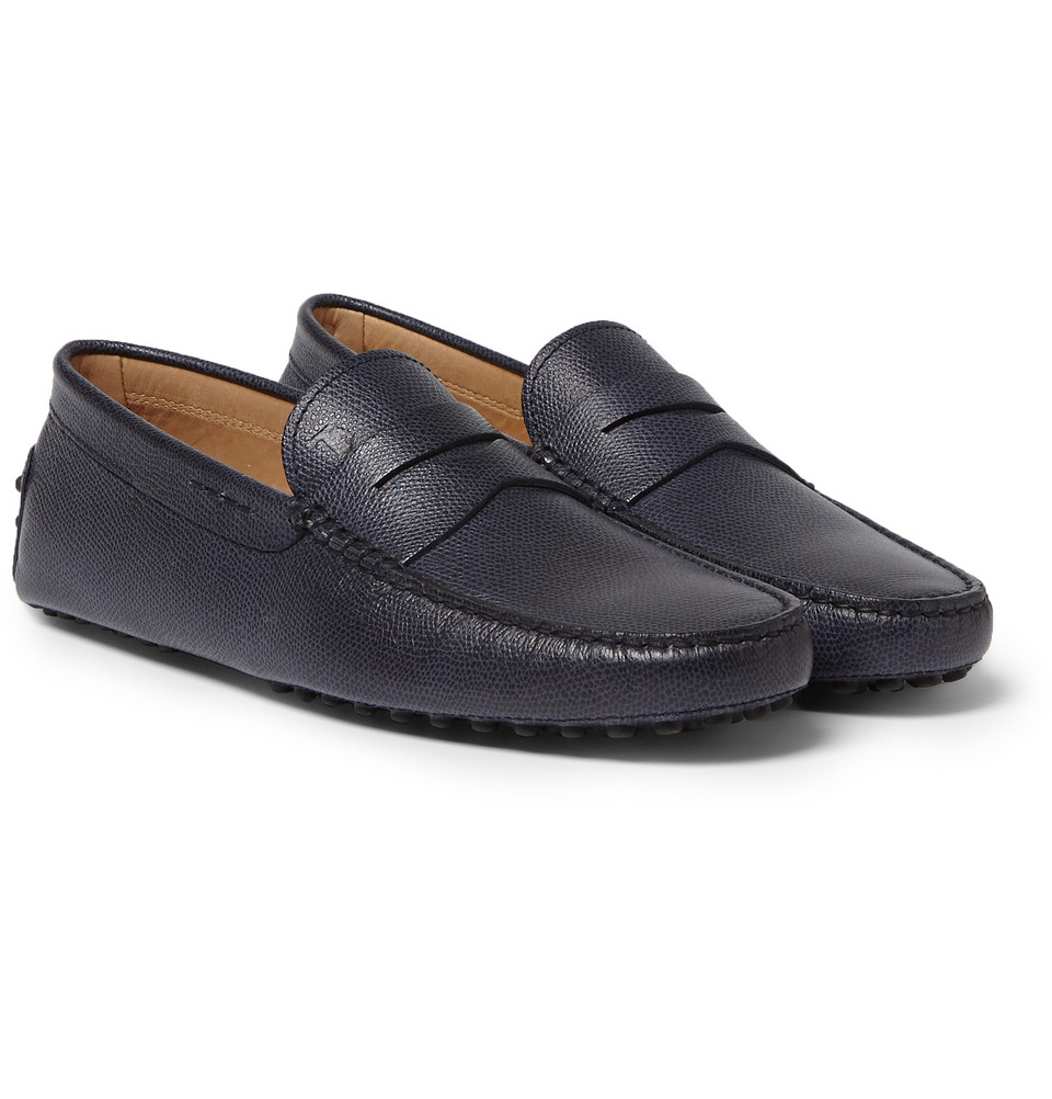 Gommino grained leather loafer Tod's daGFhad