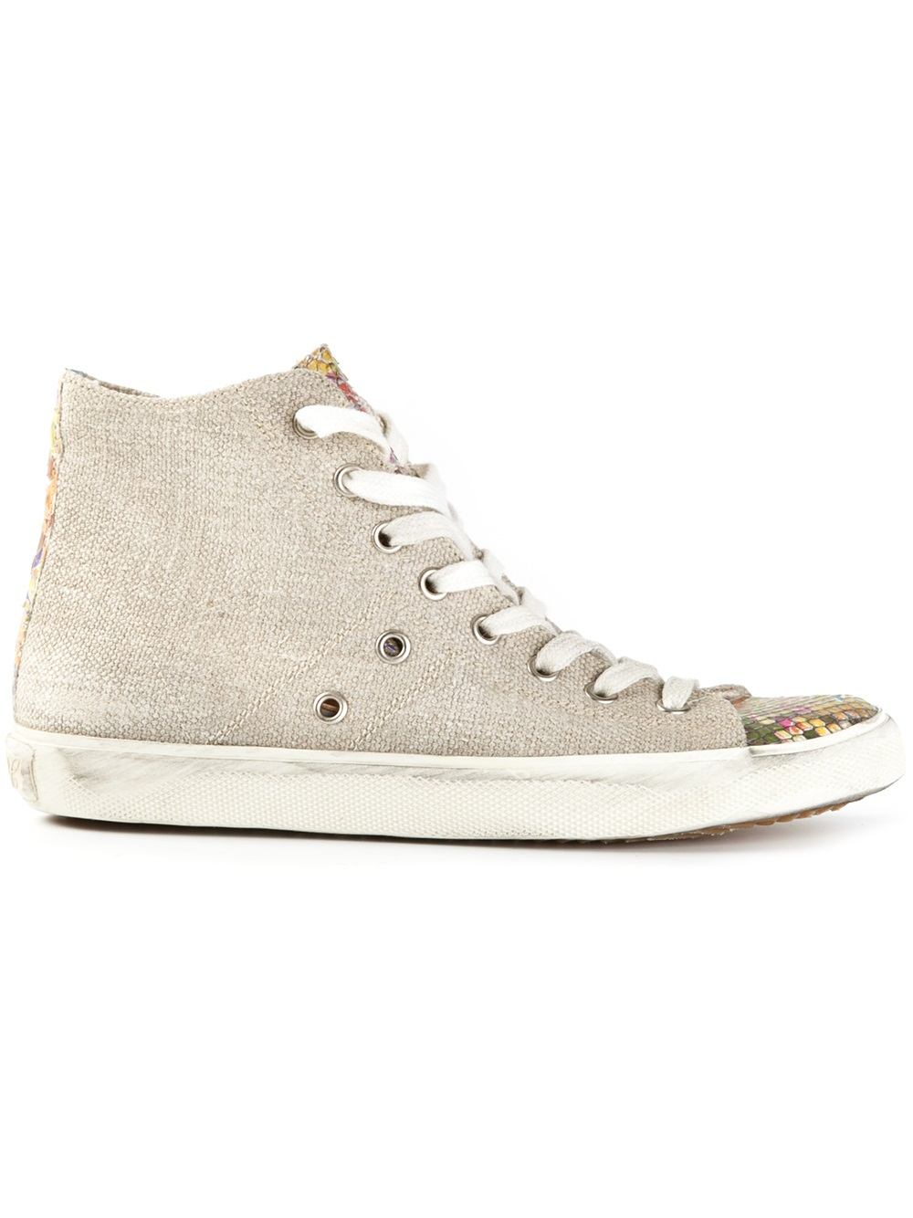 Canvas sneakers Leather Crown VQPUMOsu7