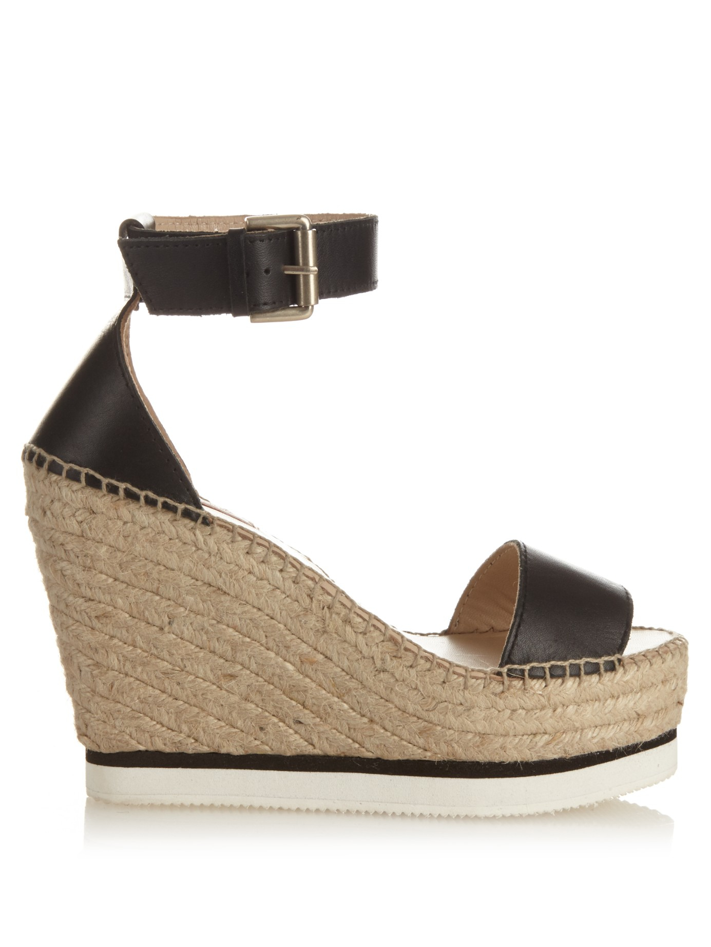 See by Chloé Leather Cage Sandals outlet new arrival genuine for sale L5k1JHj