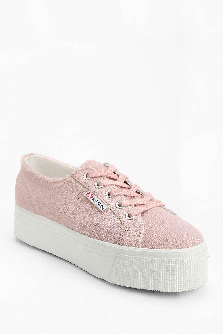 platform low top sneakers - Pink & Purple Superga G4gnalvTV