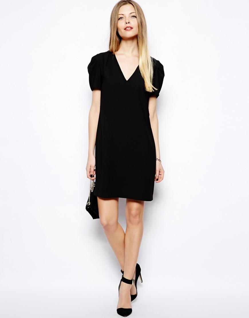 Turmec » black v neck dress asos c7dd45836