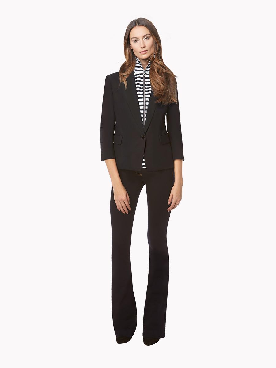 Veronica lavery black stripes