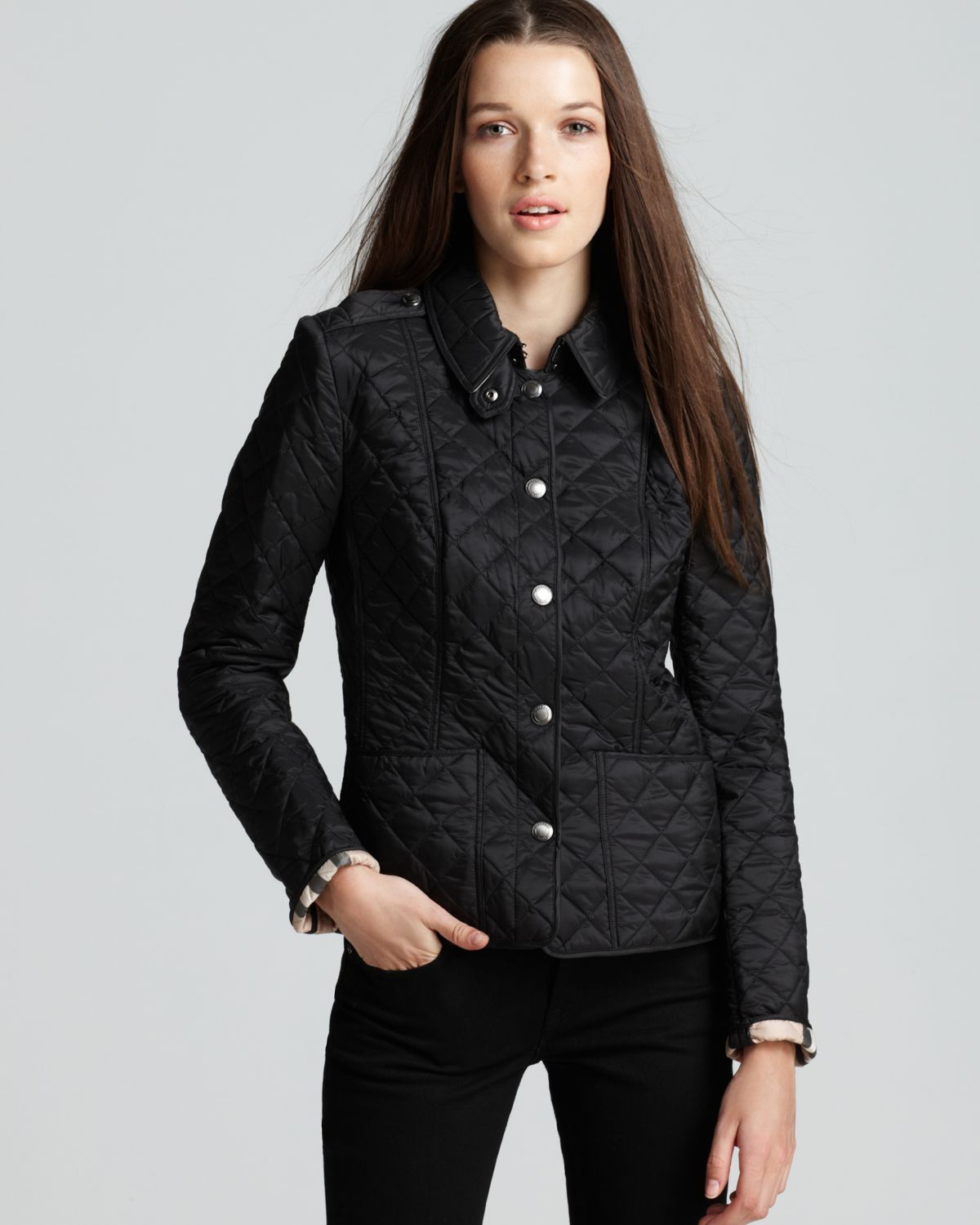 Find great deals on eBay for Black Quilted Leather Jacket in Coats and Jackets for the Modern Lady. Shop with confidence. Find great deals on eBay for Black Quilted Leather Jacket in Coats and Jackets for the Modern Lady. Ralph Lauren women's quilted barn jacket Size S black with faux leather trim.