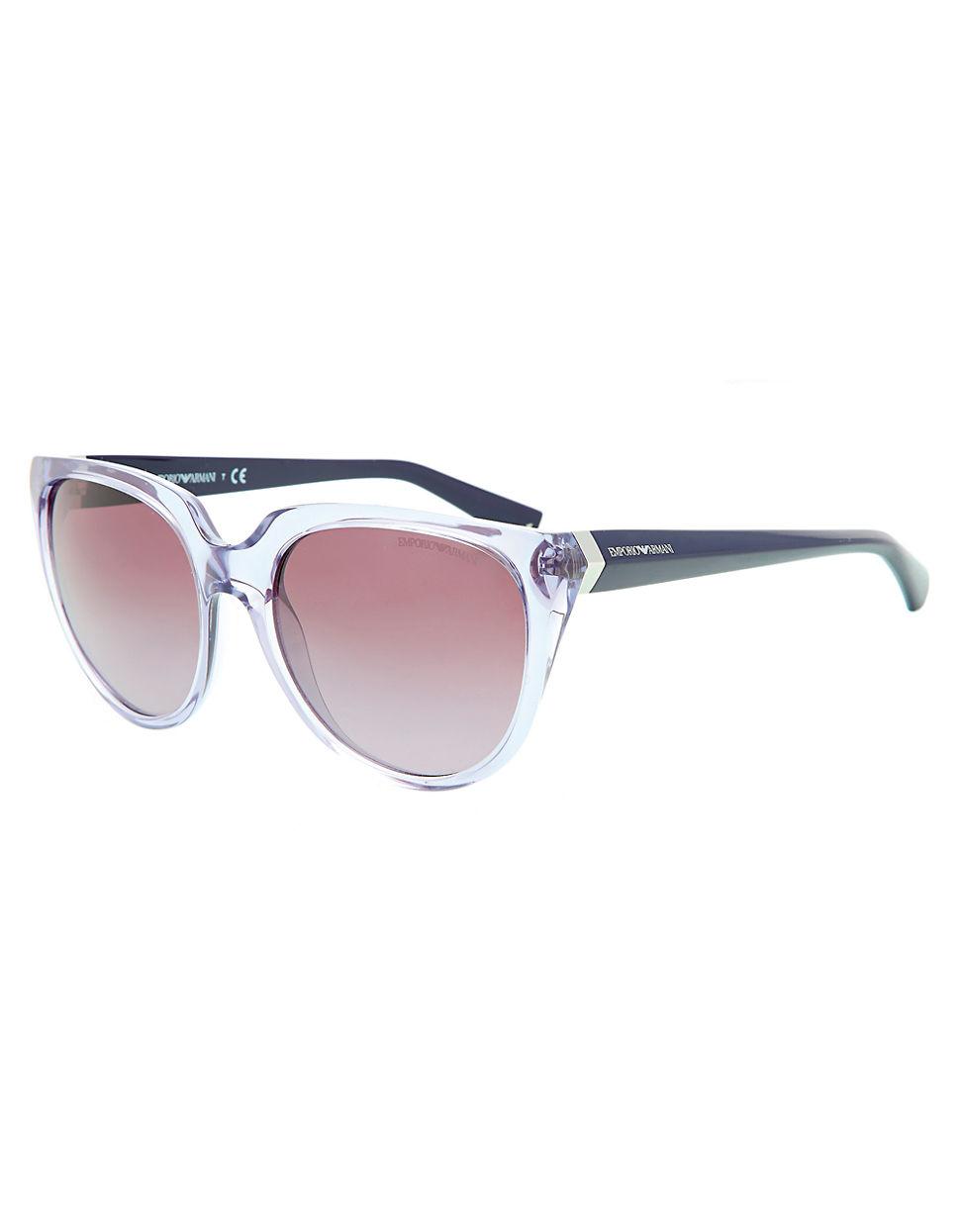 6536586d8fb1 Emporio Armani Essential Leisure Cat-Eye Sunglasses in Brown for Men ...