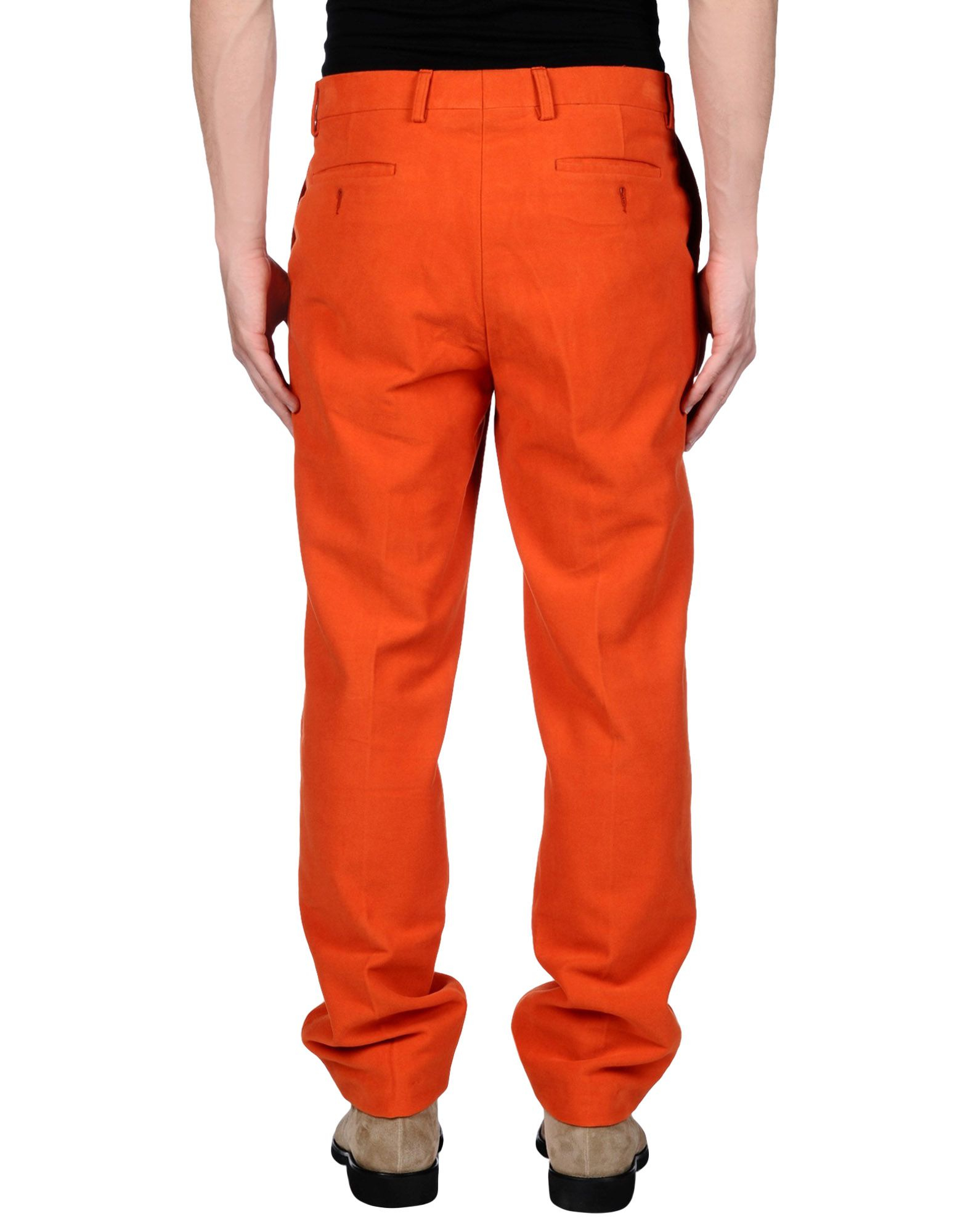 Hackett Casual Trouser In Orange For Men Lyst