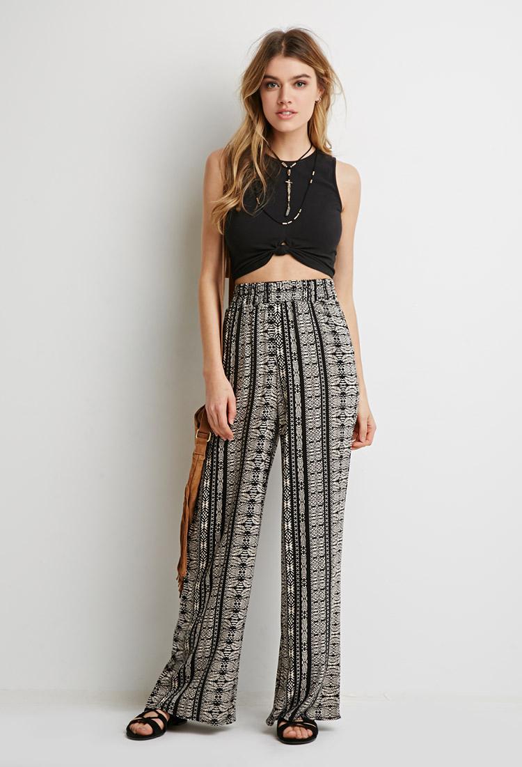 Model Plus Size Womenu0026#39;s Palazzo Pants Lose Fit Wide Leg Folding Waist Sexy Comfy | EBay