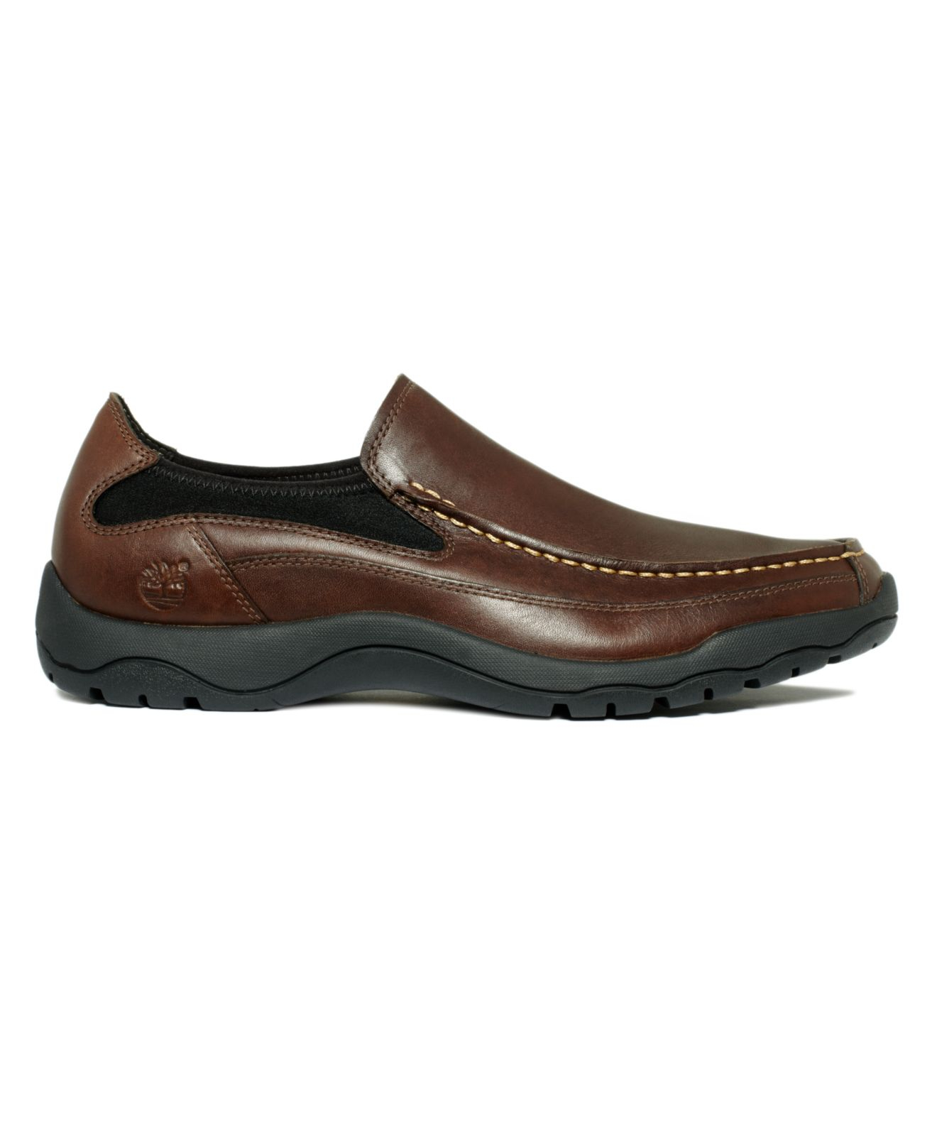 timberland s mt kisco slip on shoes in brown for