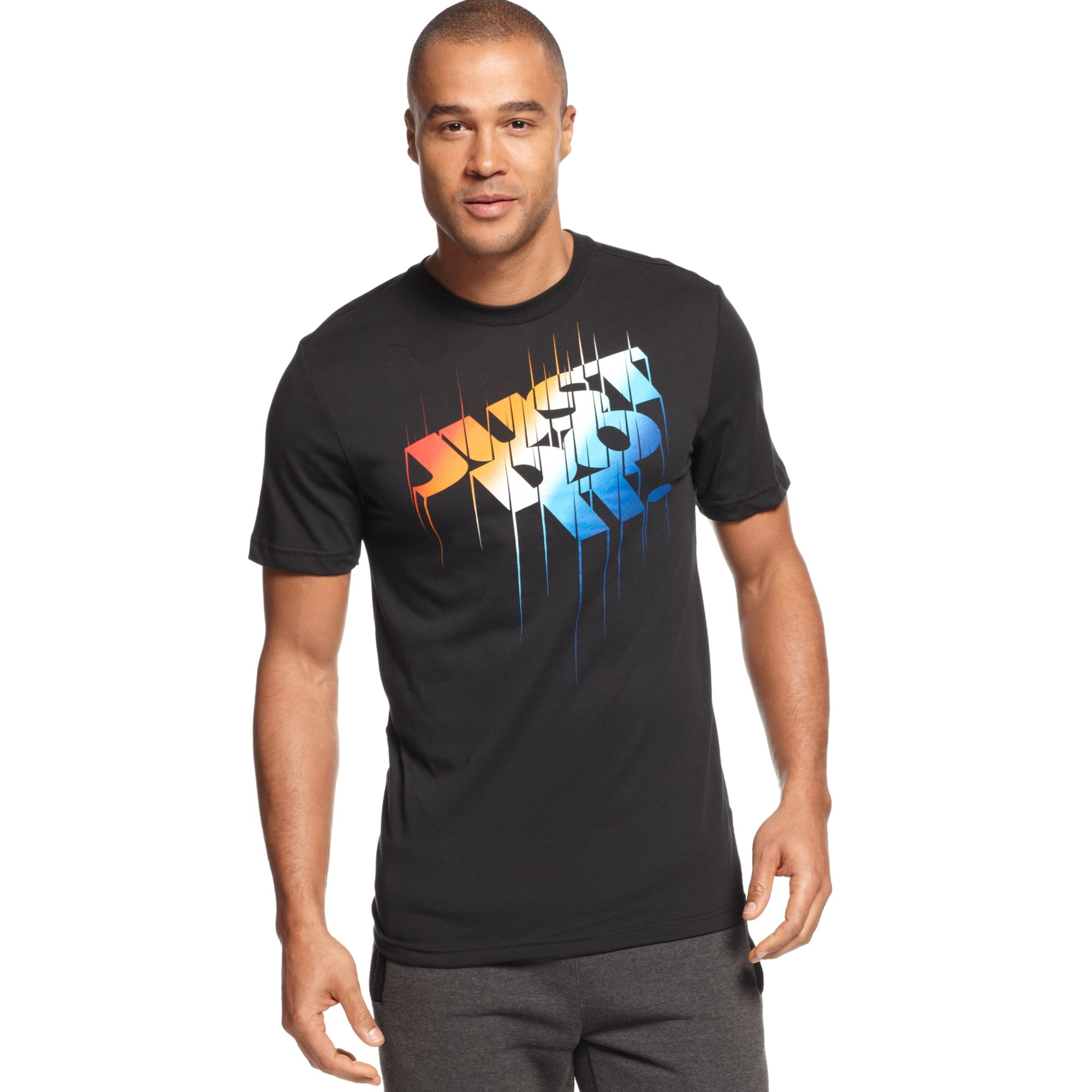 Nike Just Do It Tshirt In Black For Men Lyst
