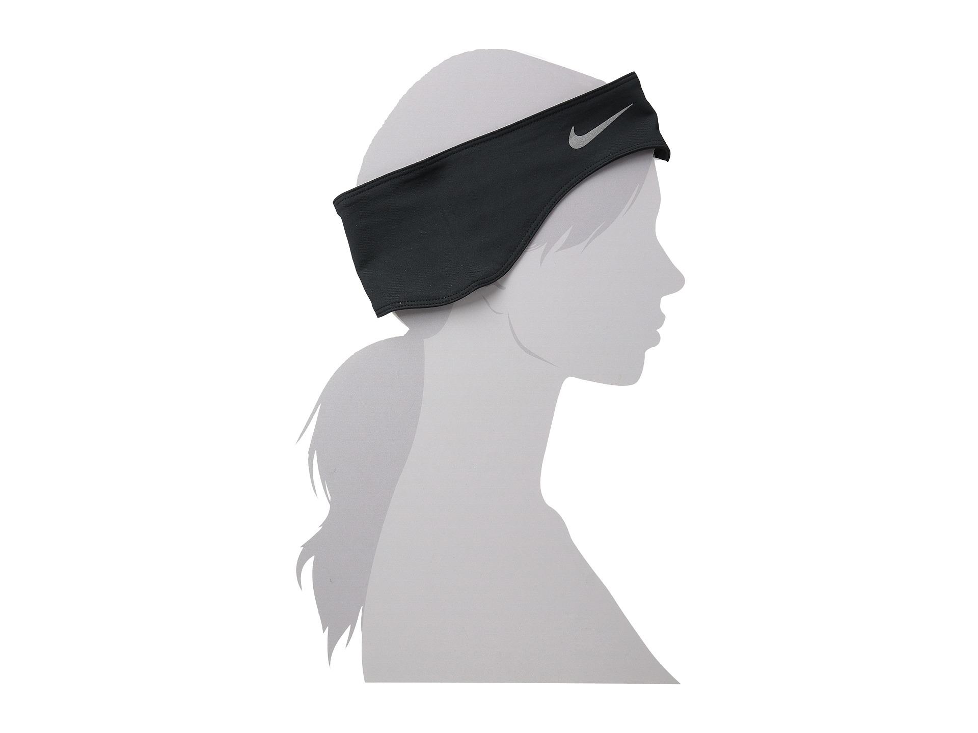 Lyst - Nike Dri-fit Running Headband glove Set in Metallic 482f56fc3bc
