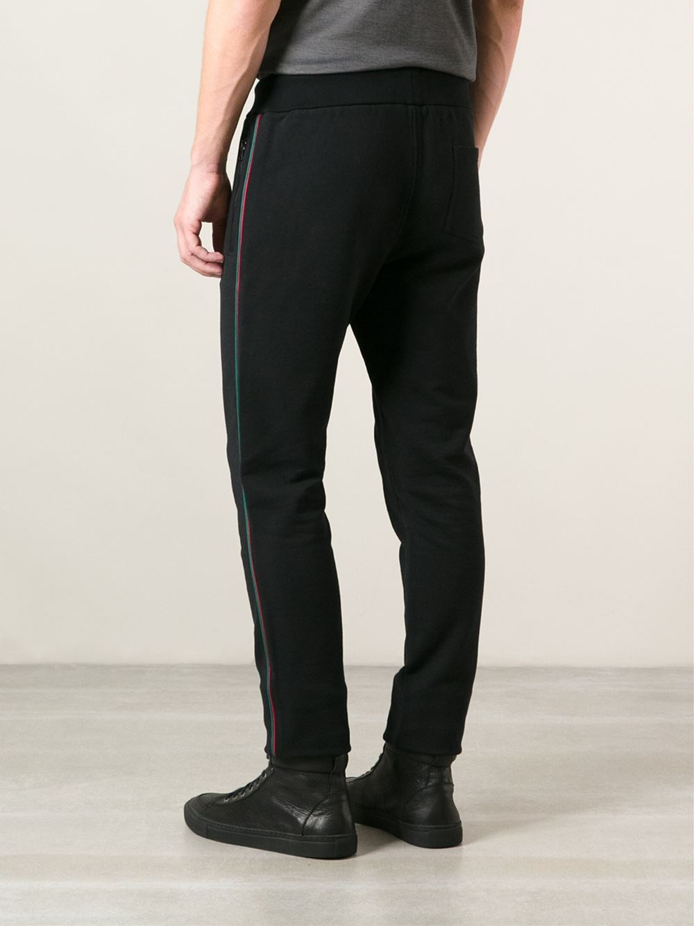 Lyst Gucci Classic Track Pants In Black For Men