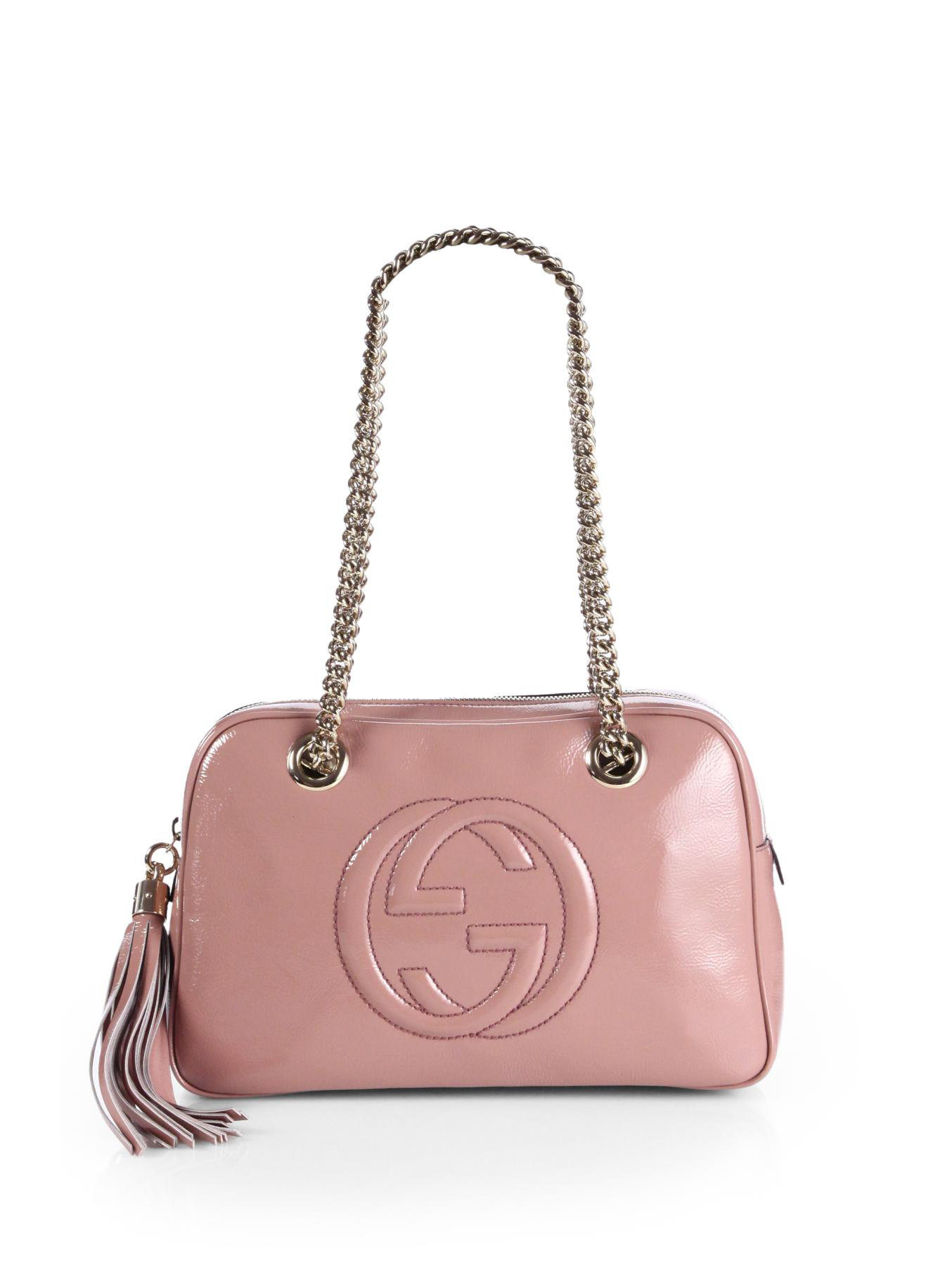 5967100bb114 Gucci Soho Leather Shoulder Bag Pink | Stanford Center for ...