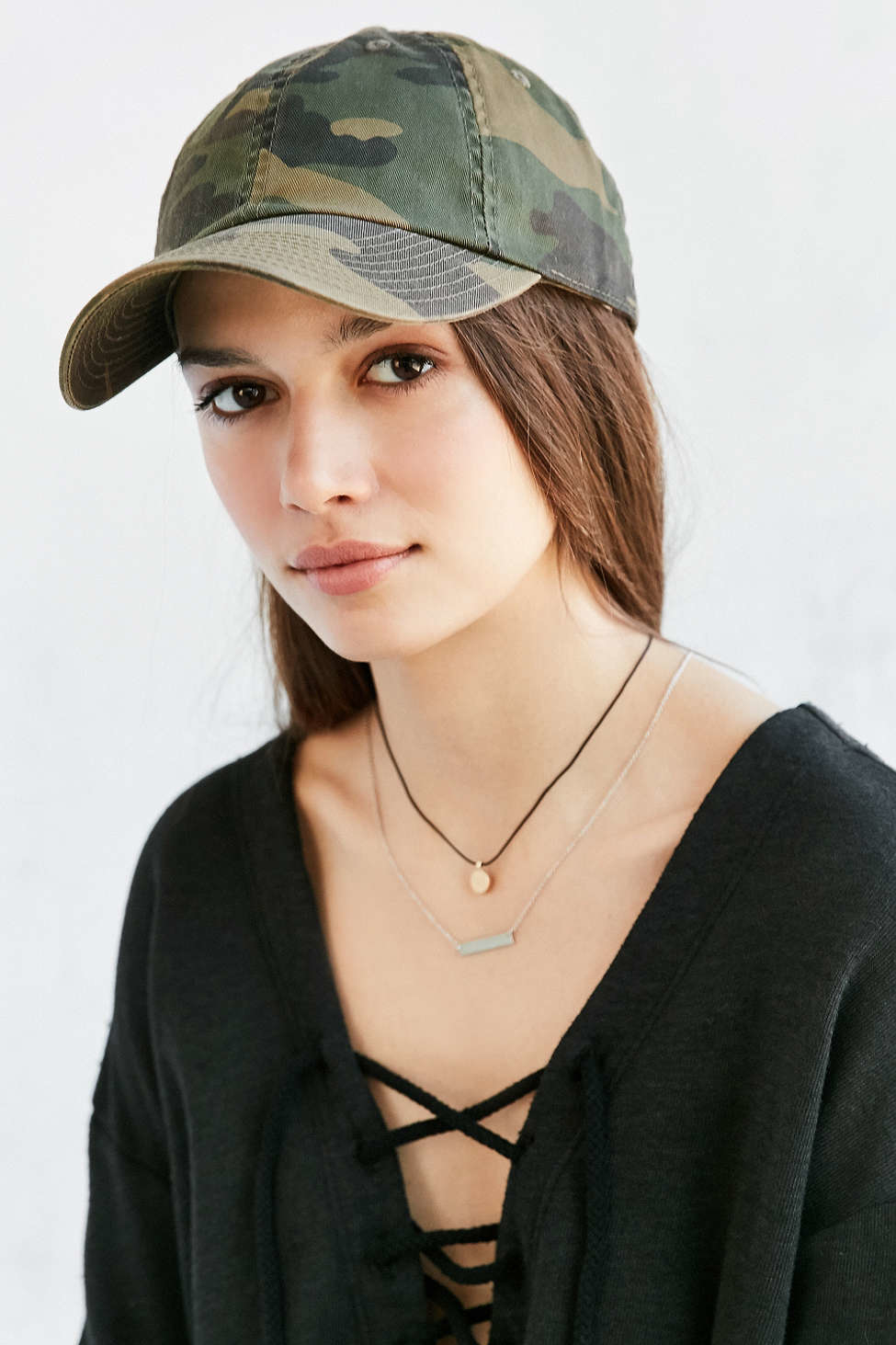 3a2b4e5e8f1 Lyst - American Needle Washed Canvas Baseball Hat in Green