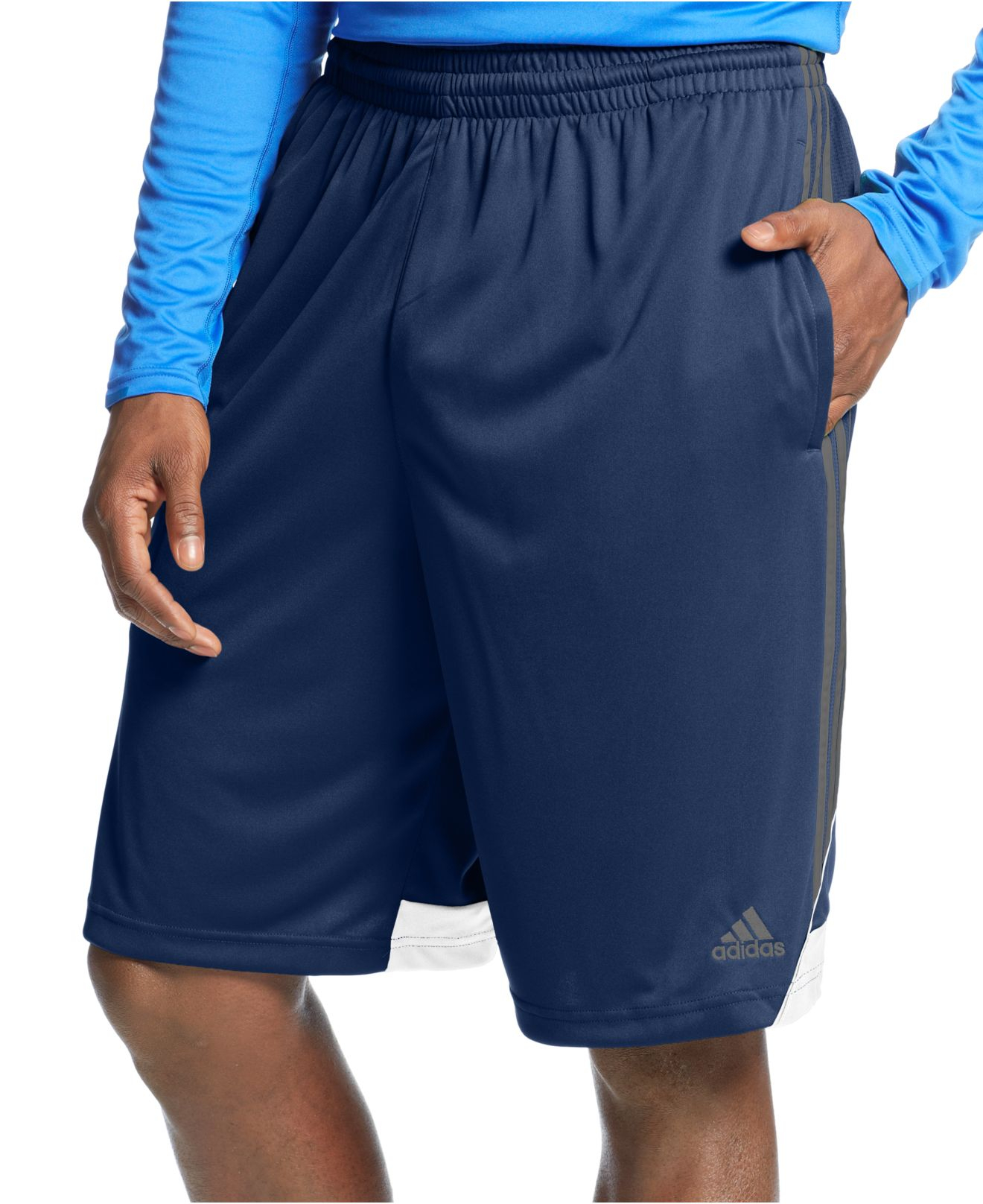 Adidas Big And Tall Men S 3g Speed Climalite Shorts In