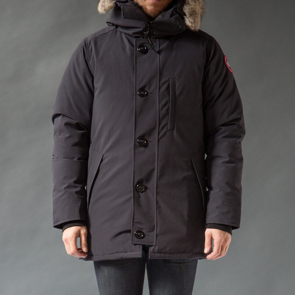 Canada Goose montebello parka outlet store - Canada goose Chateau Parka in Blue for Men (Navy) | Lyst